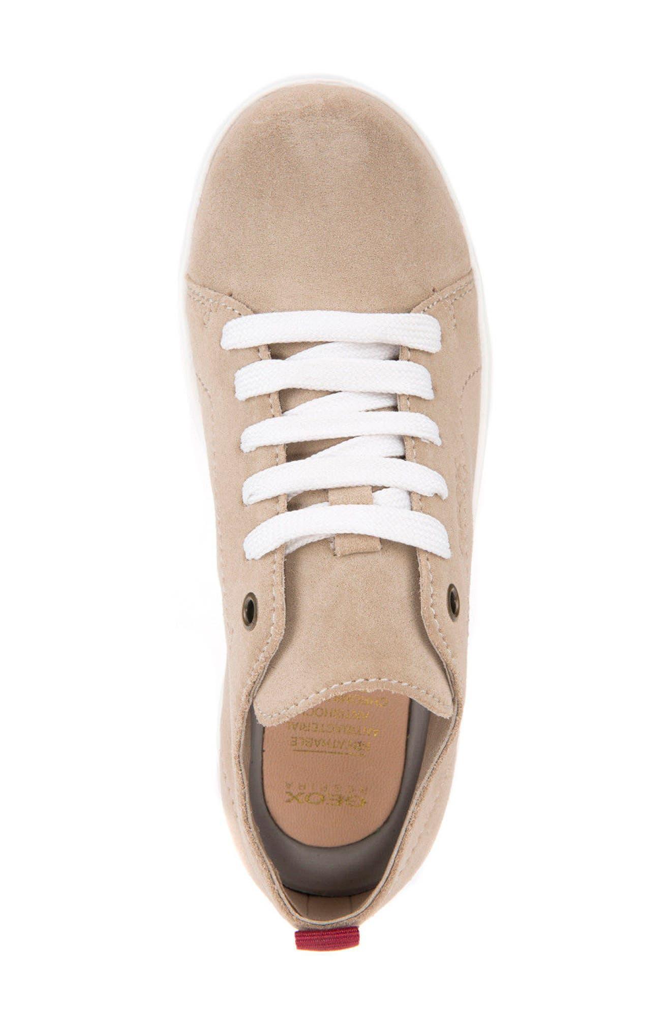 Anthor Low Top Sneaker,                             Alternate thumbnail 5, color,                             BEIGE