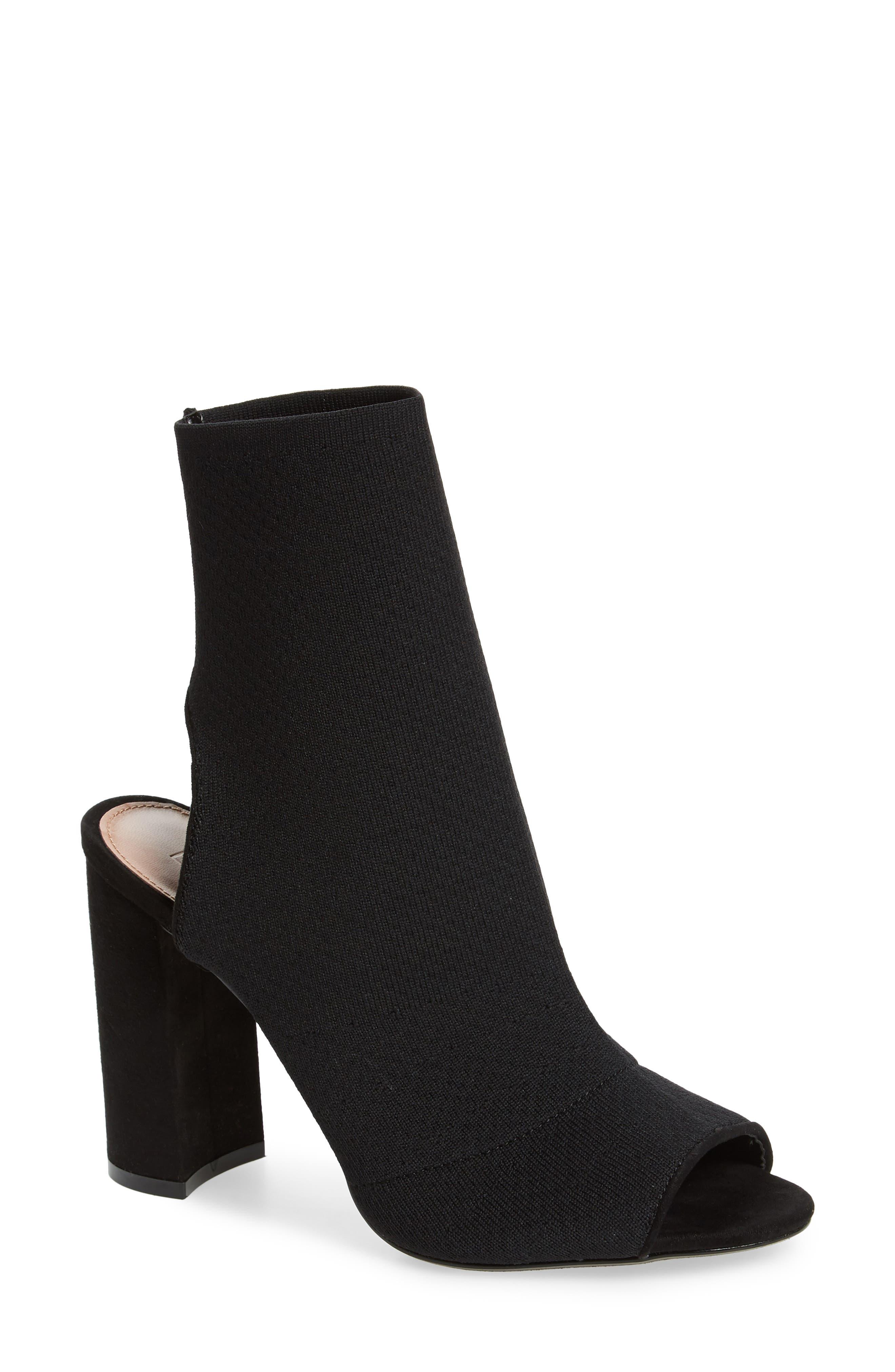 Sister Block Heel Sock Bootie,                         Main,                         color,