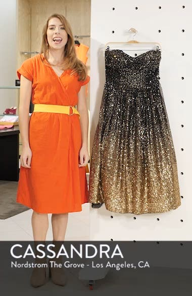 Strapless Midi Dress, sales video thumbnail