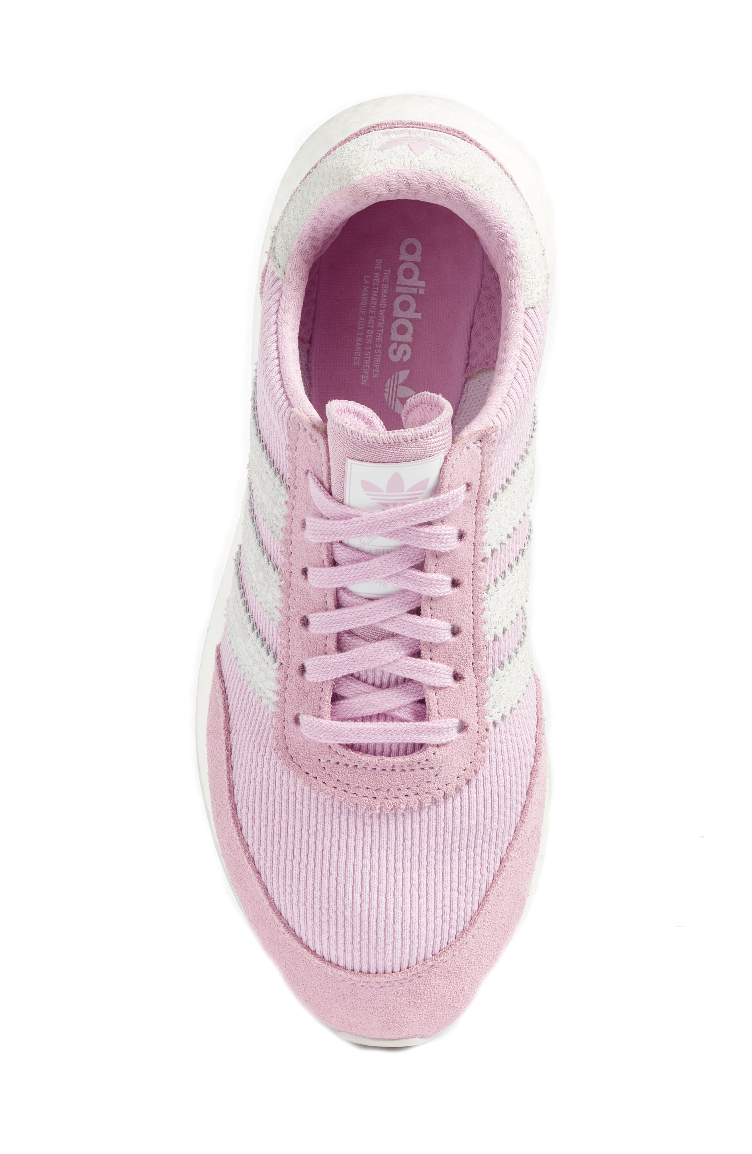I-5923 Sneaker,                             Alternate thumbnail 5, color,                             CLEAR LILAC/ WHITE/ GREY