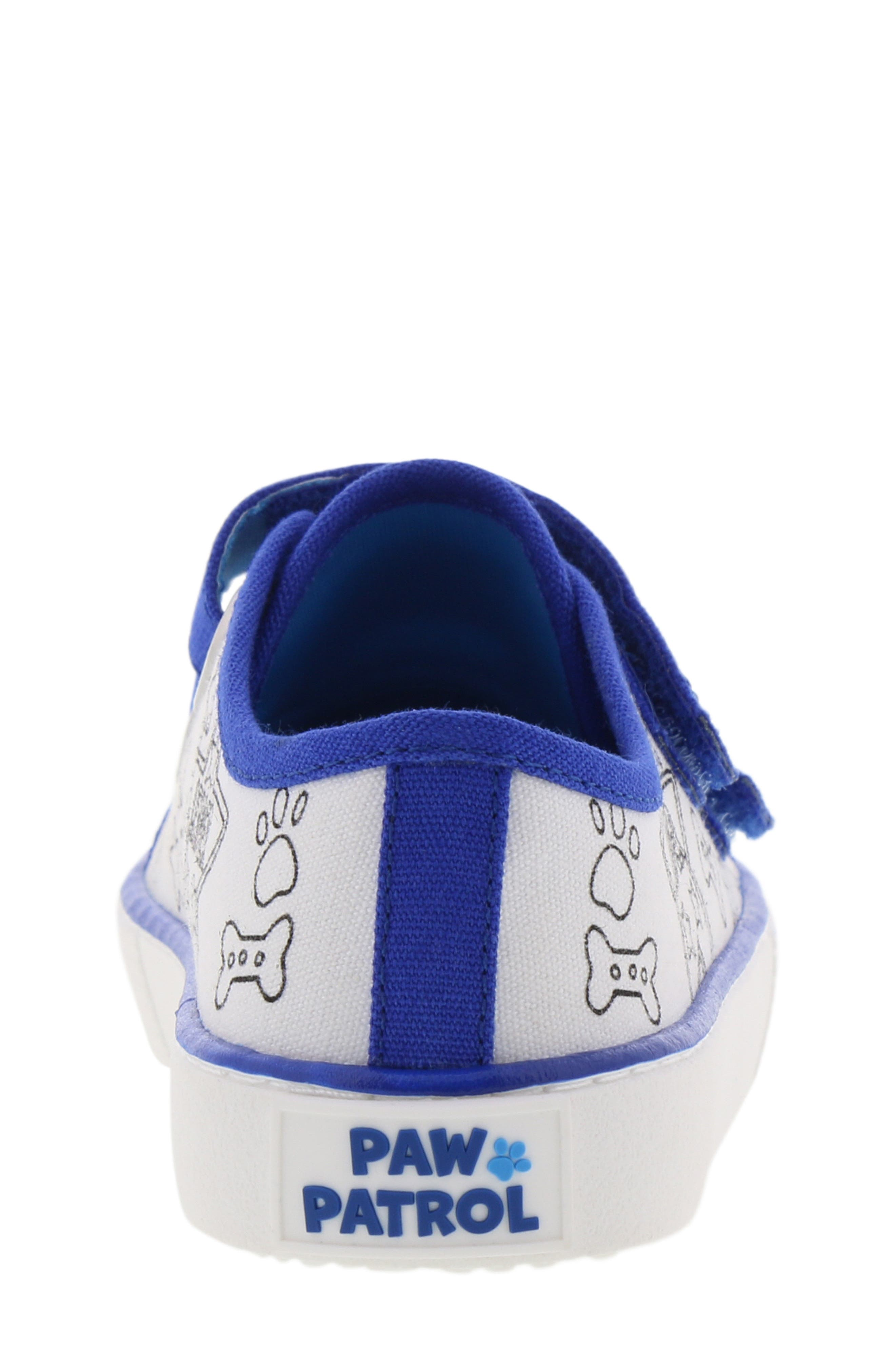 Chase Color DIY Sneaker,                             Alternate thumbnail 8, color,                             WHITE CHASE BLUE
