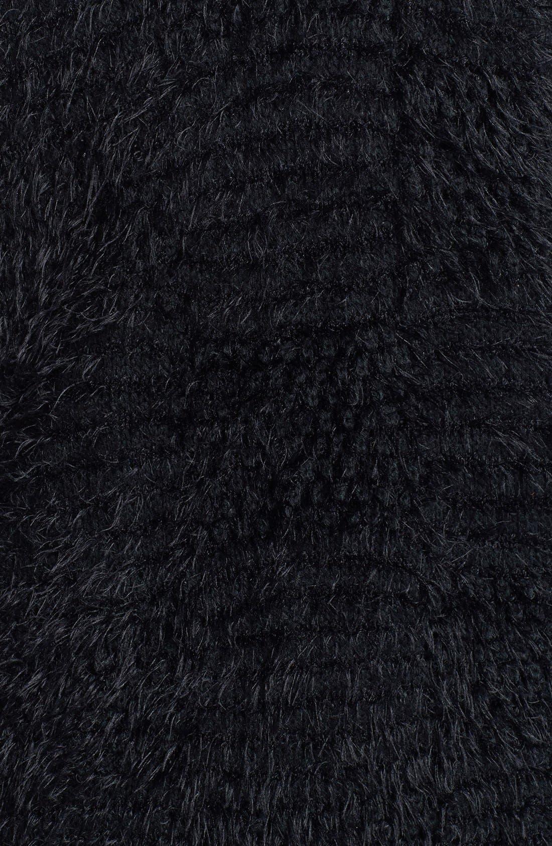 Textured Cardigan,                             Alternate thumbnail 3, color,                             001