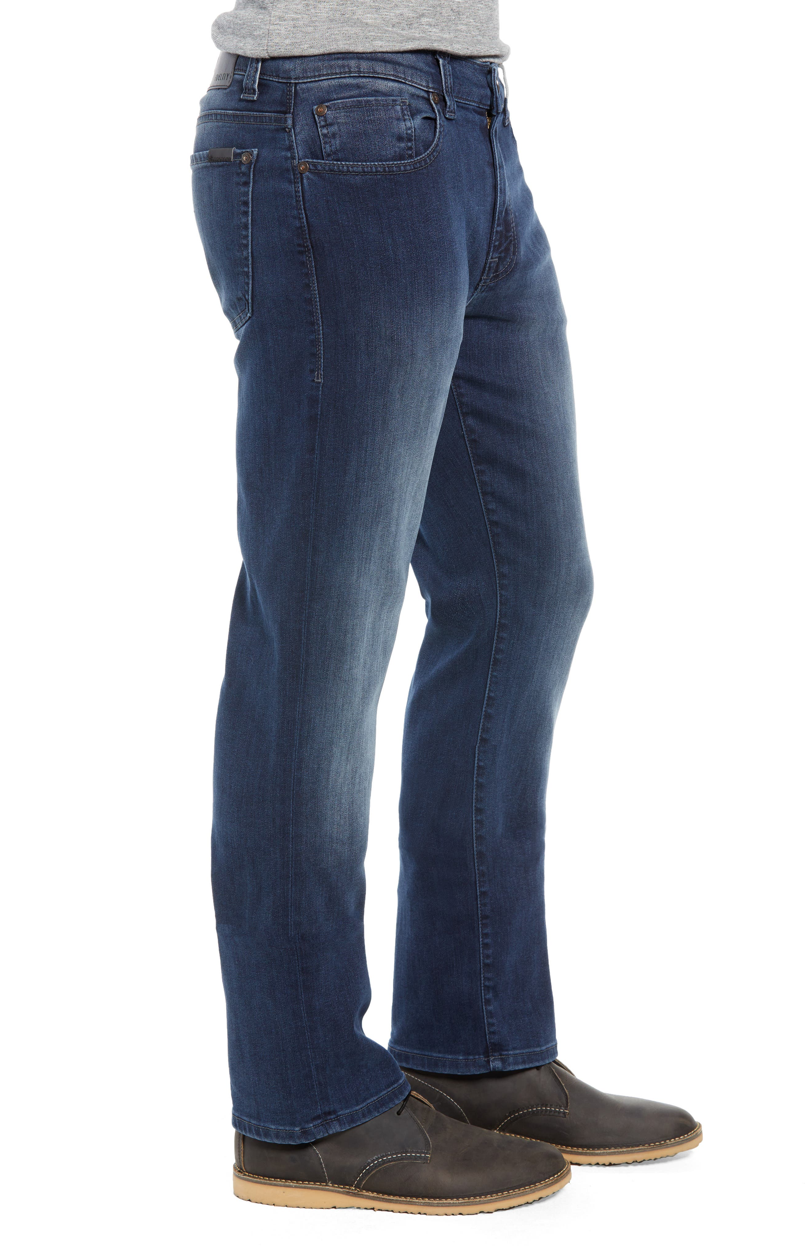 50-11 Relaxed Fit Jeans,                             Alternate thumbnail 3, color,                             BEL AIR BLUE
