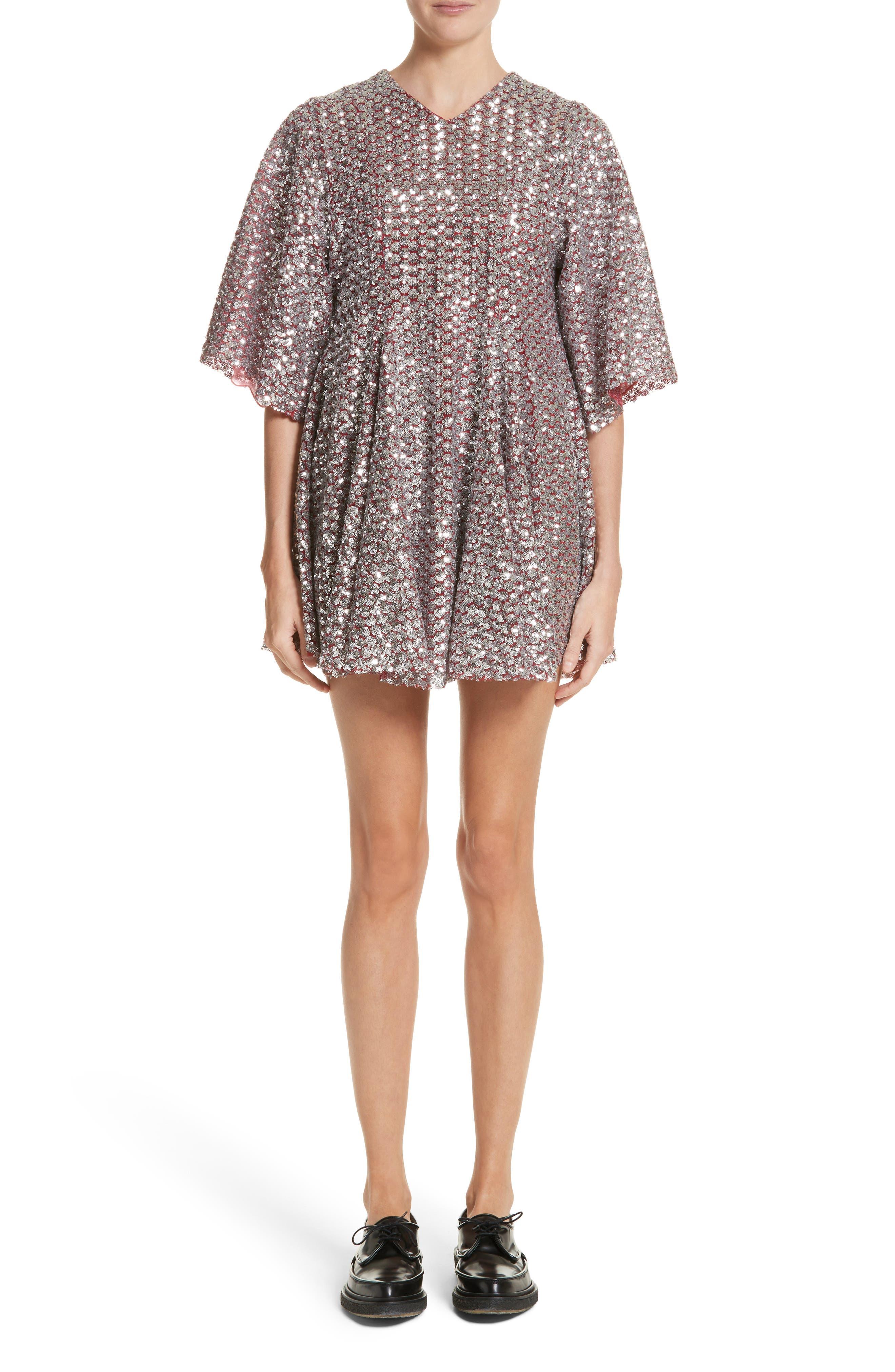 Simmi Sequin Dress,                             Main thumbnail 1, color,                             040