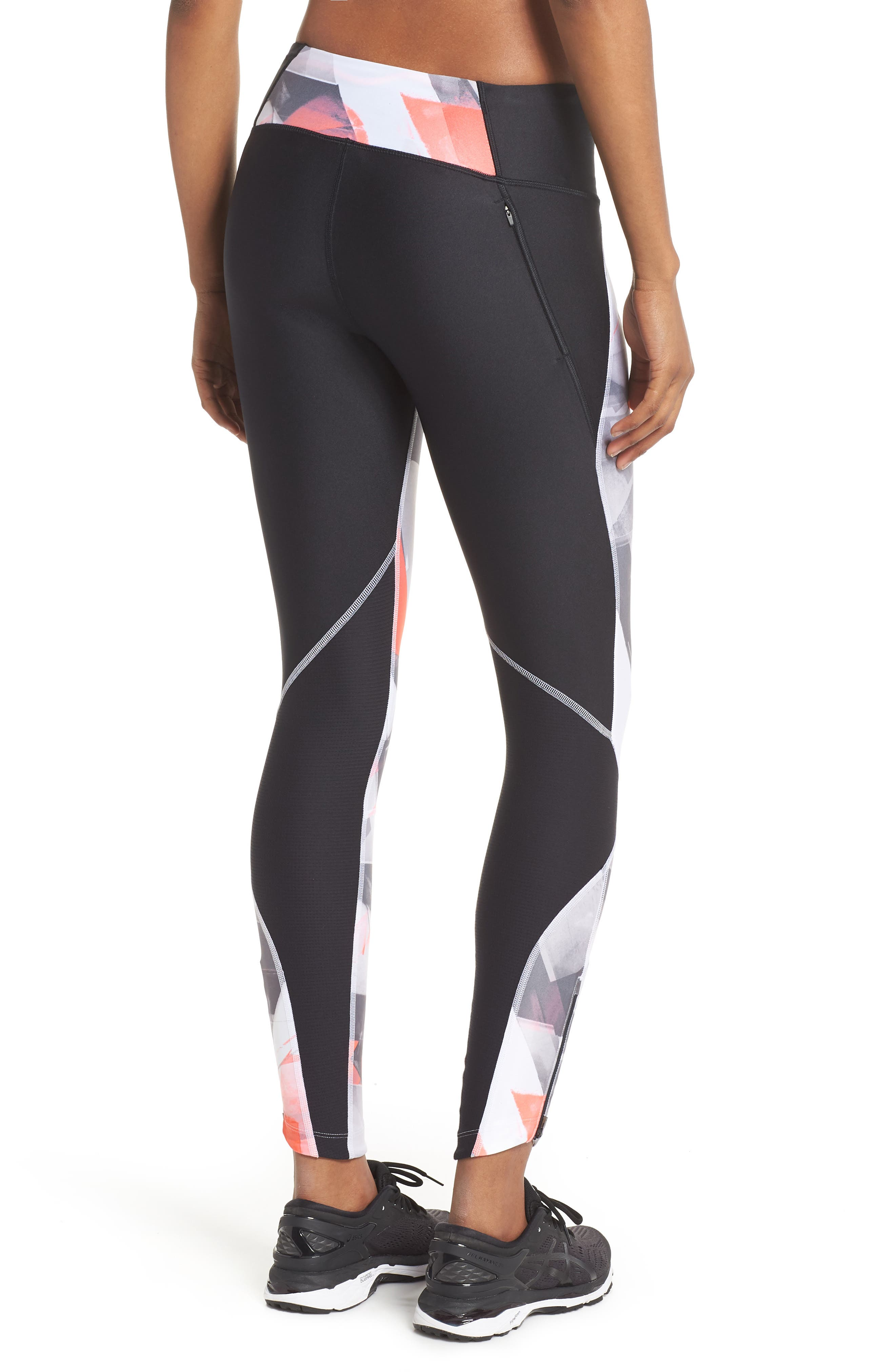 Fly Fast HeatGear<sup>®</sup> Leggings,                             Alternate thumbnail 2, color,                             003