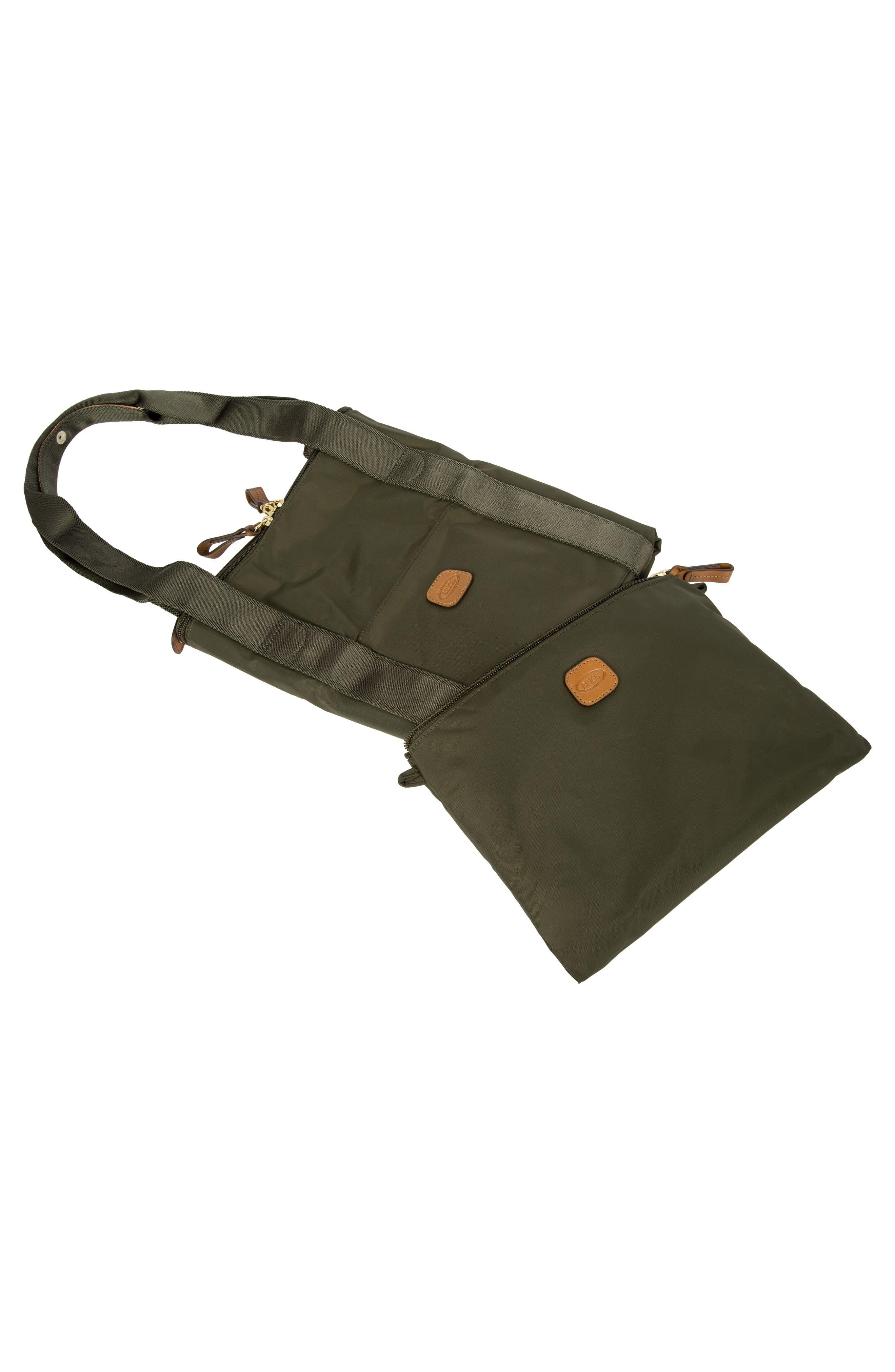 X-Bag 22-Inch Folding Duffel Bag,                             Alternate thumbnail 7, color,                             OLIVE