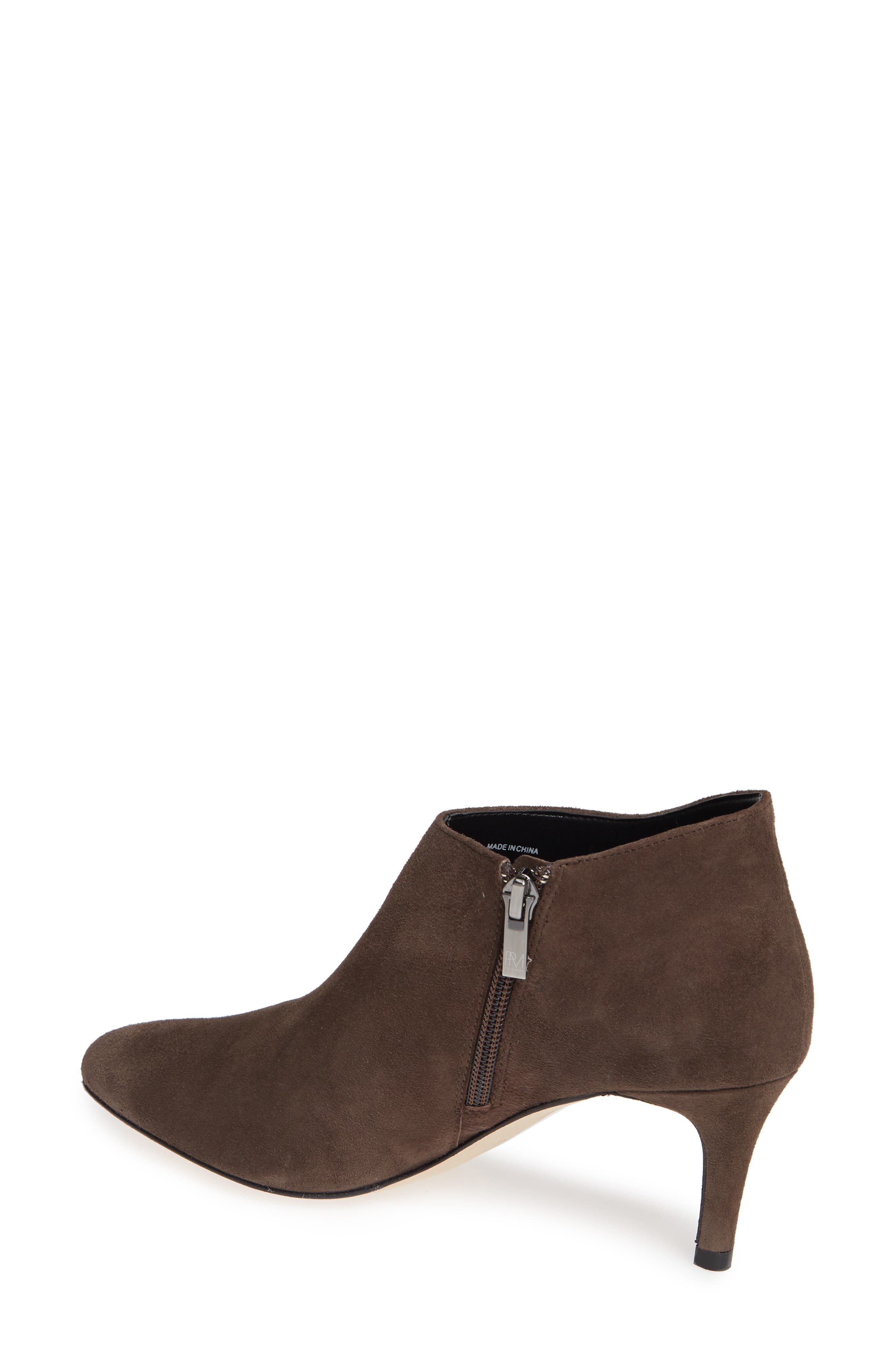 'Yelm' Almond Toe Bootie,                             Alternate thumbnail 2, color,                             MINK SUEDE