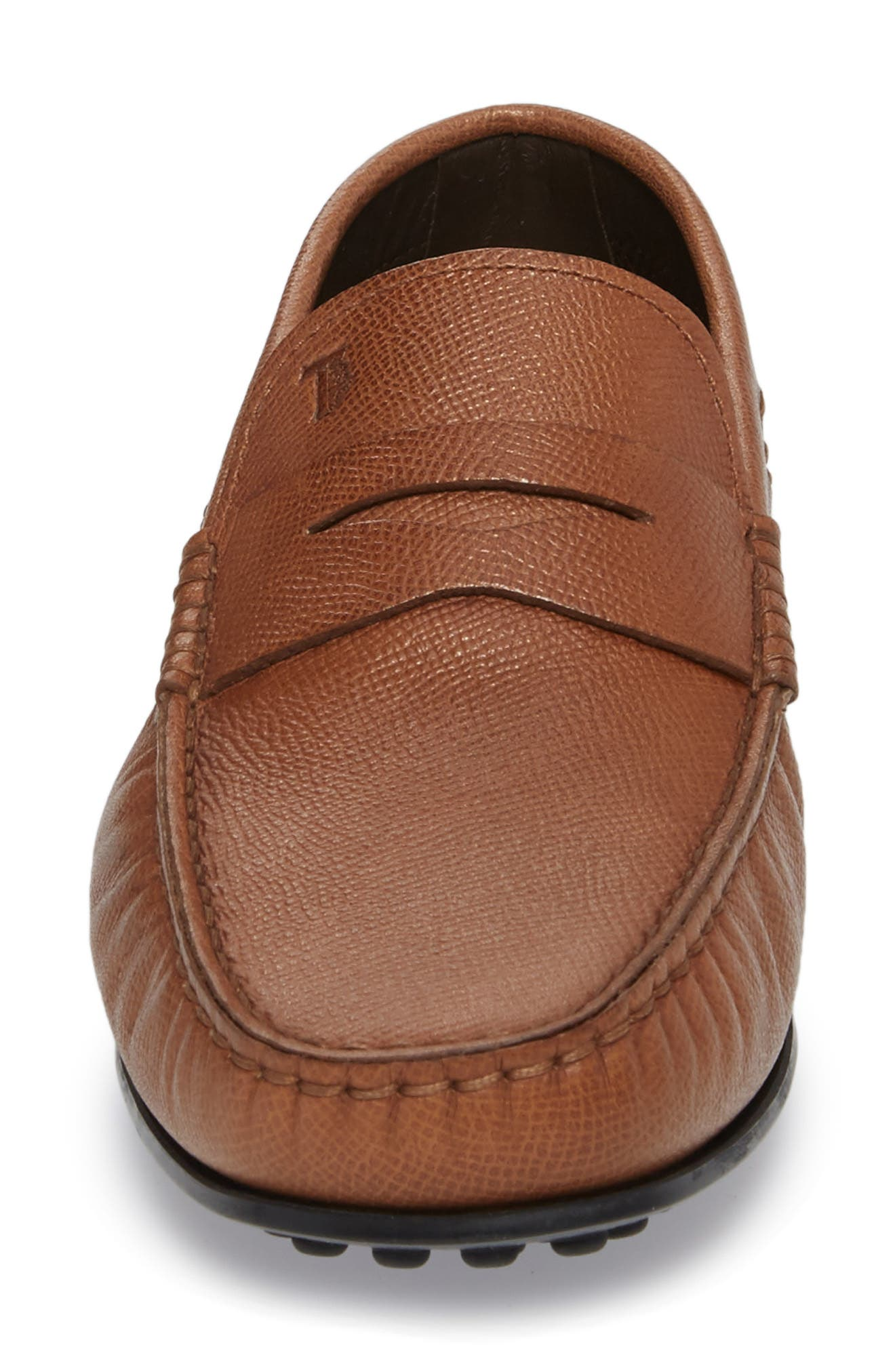 City Driving Shoe,                             Alternate thumbnail 4, color,                             TAN LEATHER