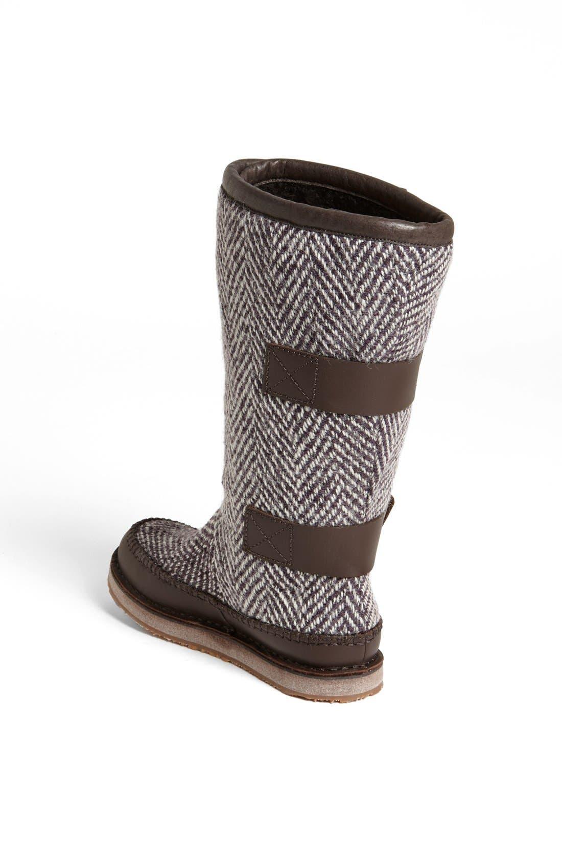 'Chipahko<sup>™</sup>' Wool Blend Boot,                             Alternate thumbnail 4, color,                             059