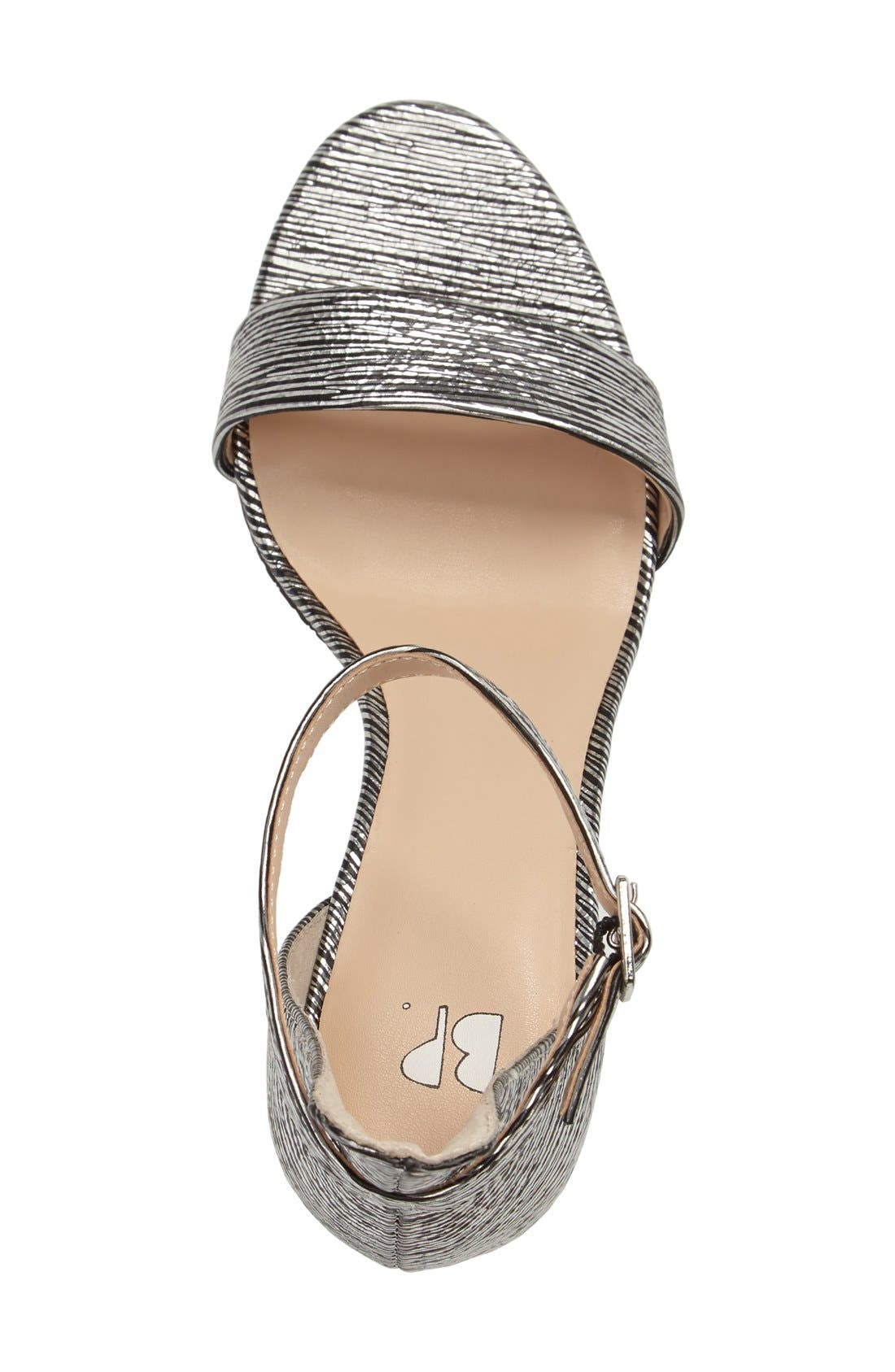 'Luminate' Open Toe Dress Sandal,                             Alternate thumbnail 157, color,