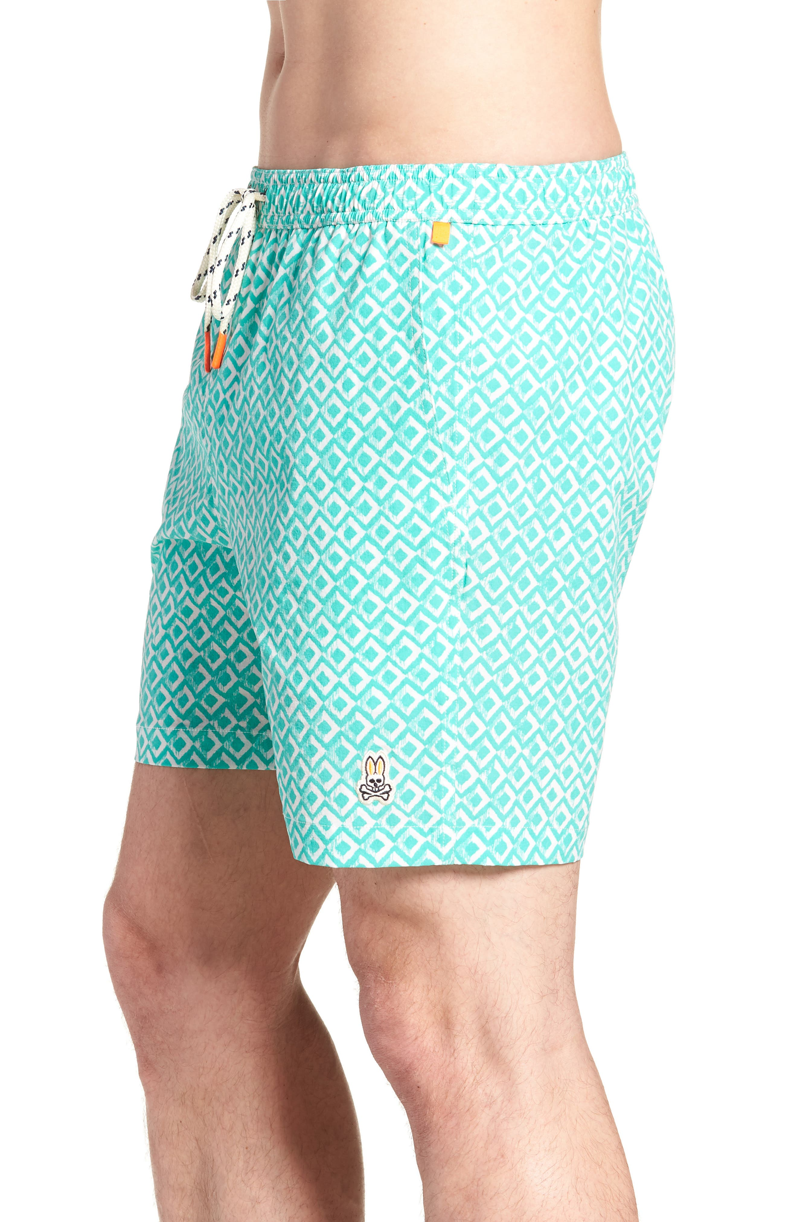 Drippy Diamond Swim Trunks,                             Alternate thumbnail 3, color,                             300