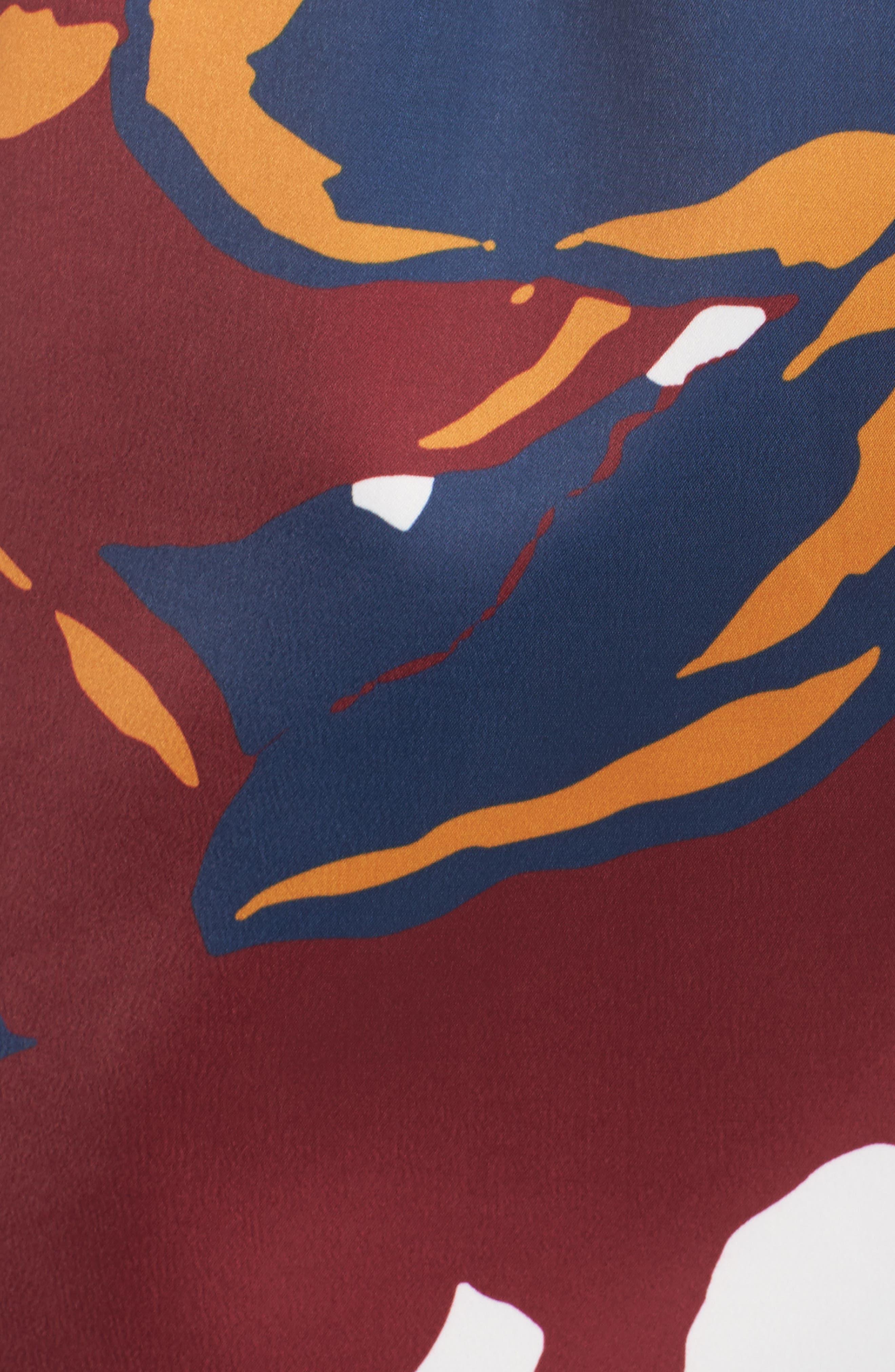 C/MEO COLLECTIVE,                             Vanish Surplice Dress,                             Alternate thumbnail 5, color,                             400