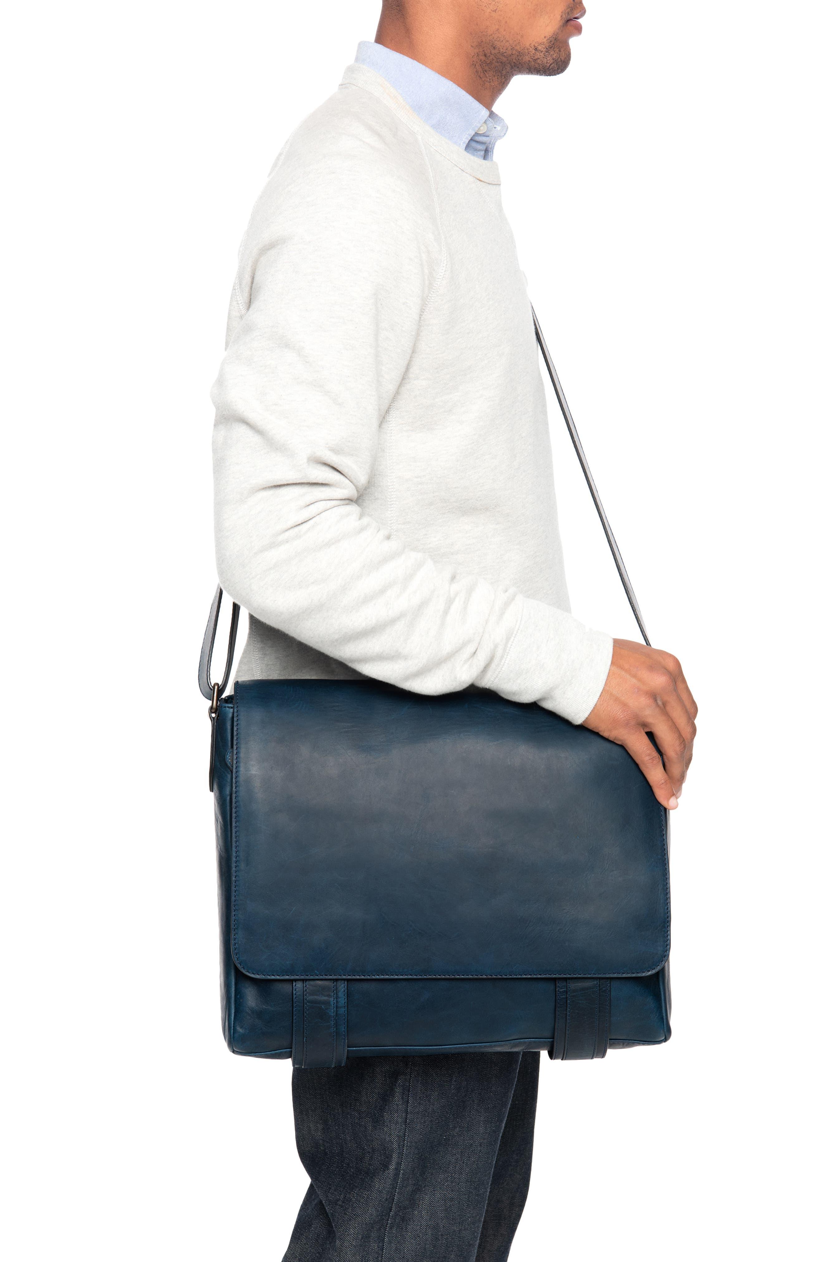 'Logan' Messenger Bag,                             Alternate thumbnail 2, color,                             NAVY