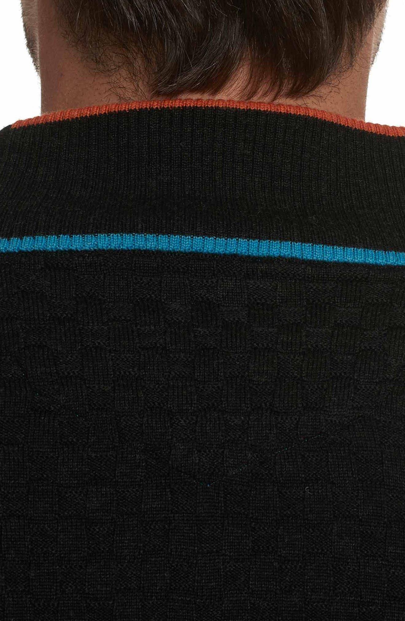 American Beech Wool Sweater,                             Alternate thumbnail 3, color,                             001