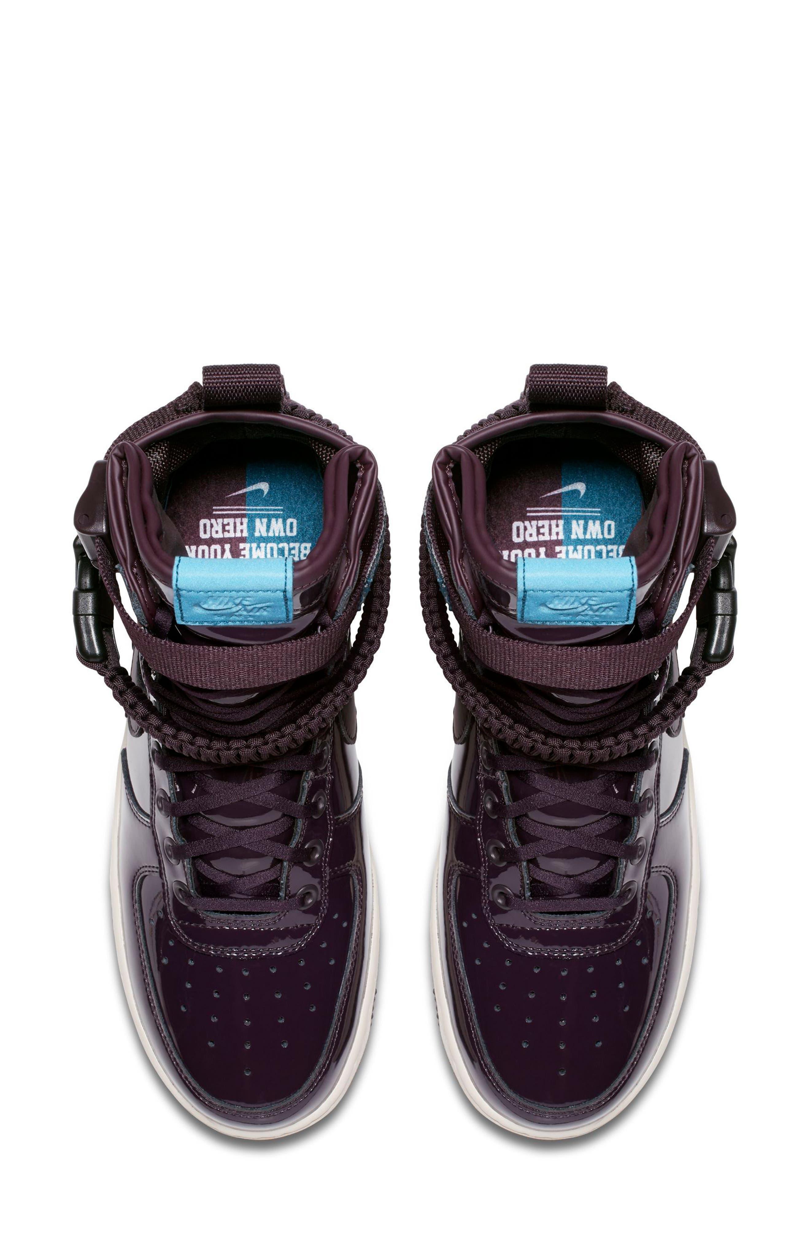 SF Air Force 1 High Top Sneaker,                             Alternate thumbnail 8, color,