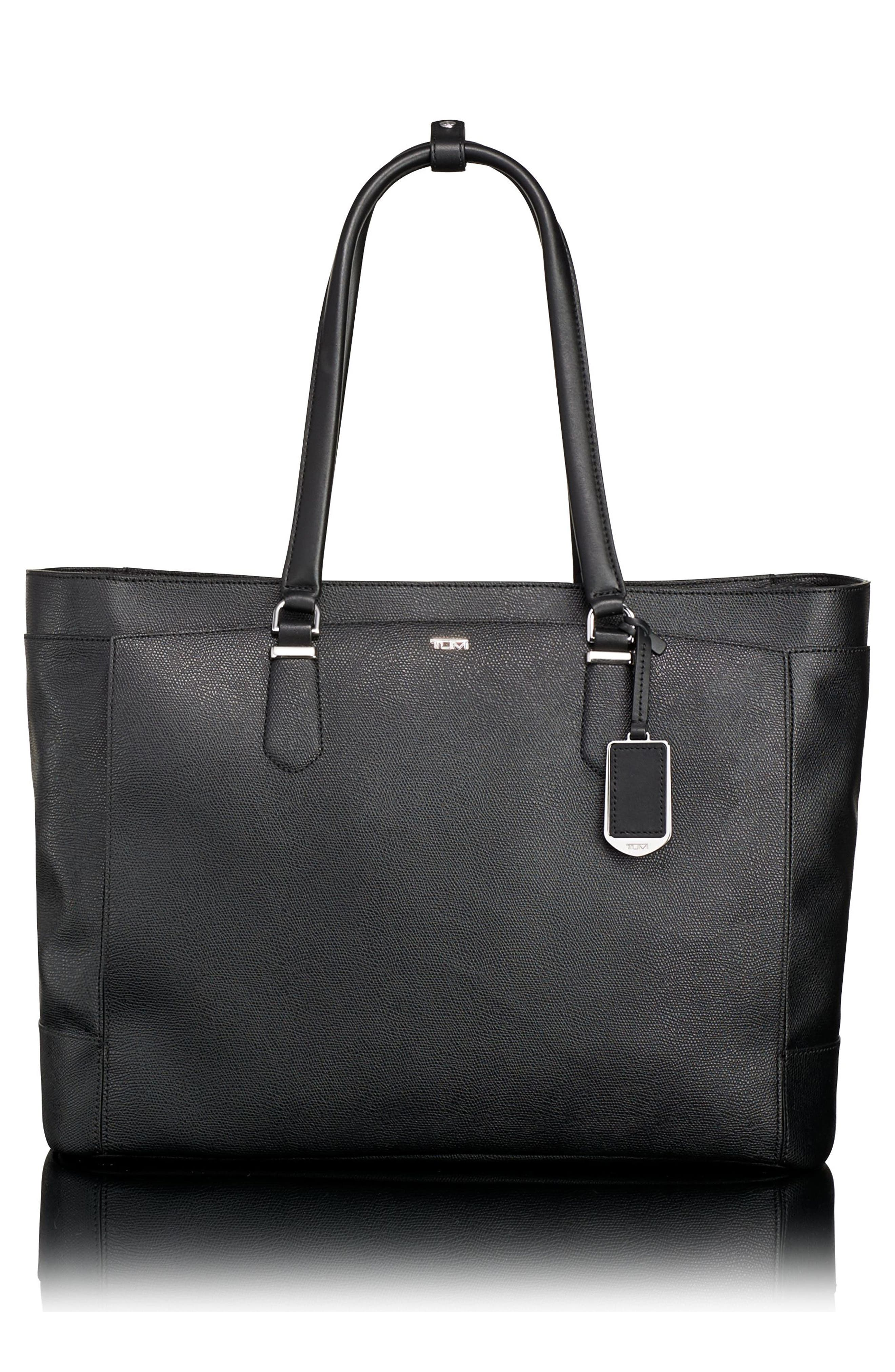 Valerie Business Tote,                             Main thumbnail 1, color,                             001
