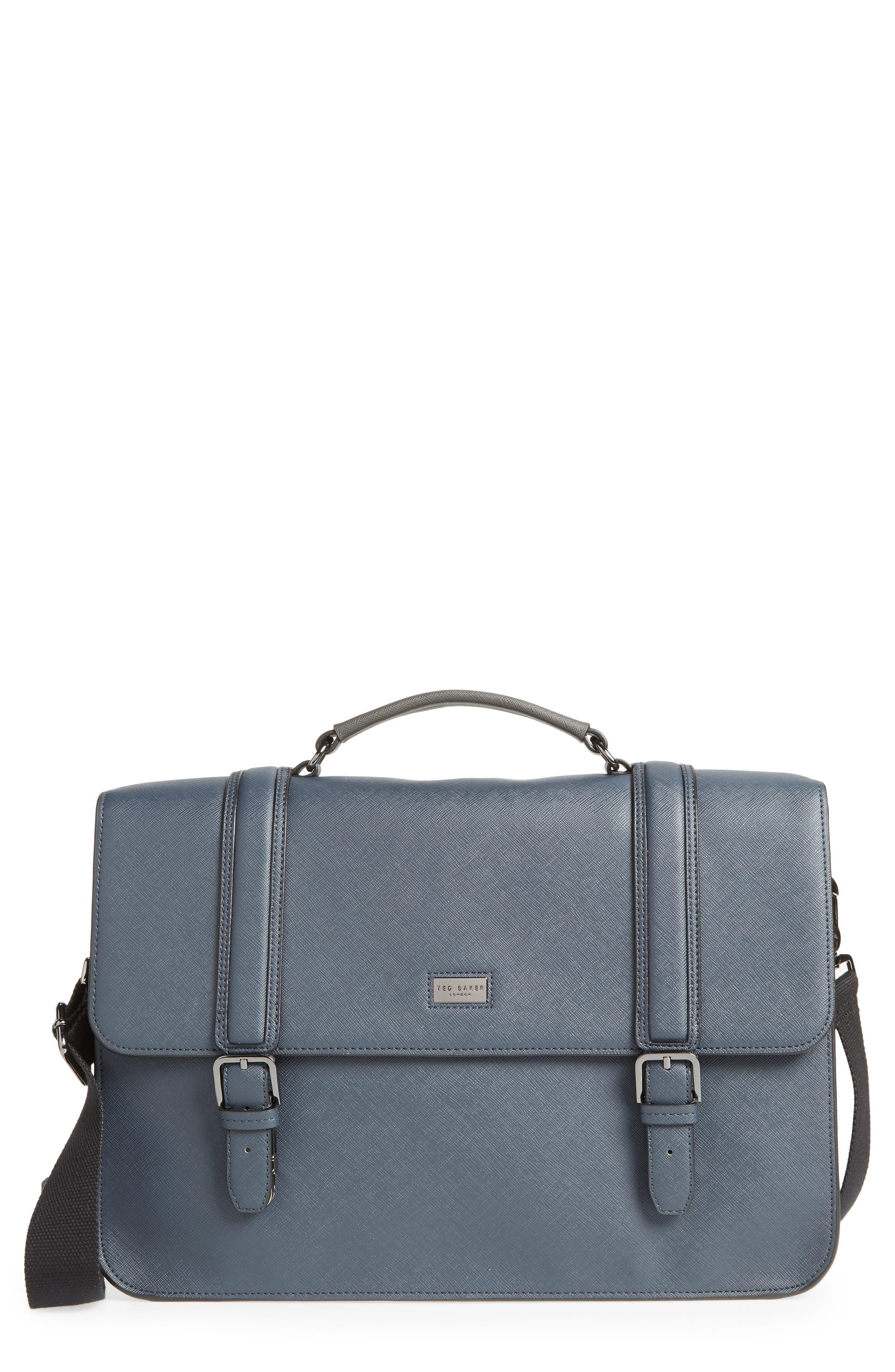 Crossgrain Messenger Bag, Main, color, NAVY