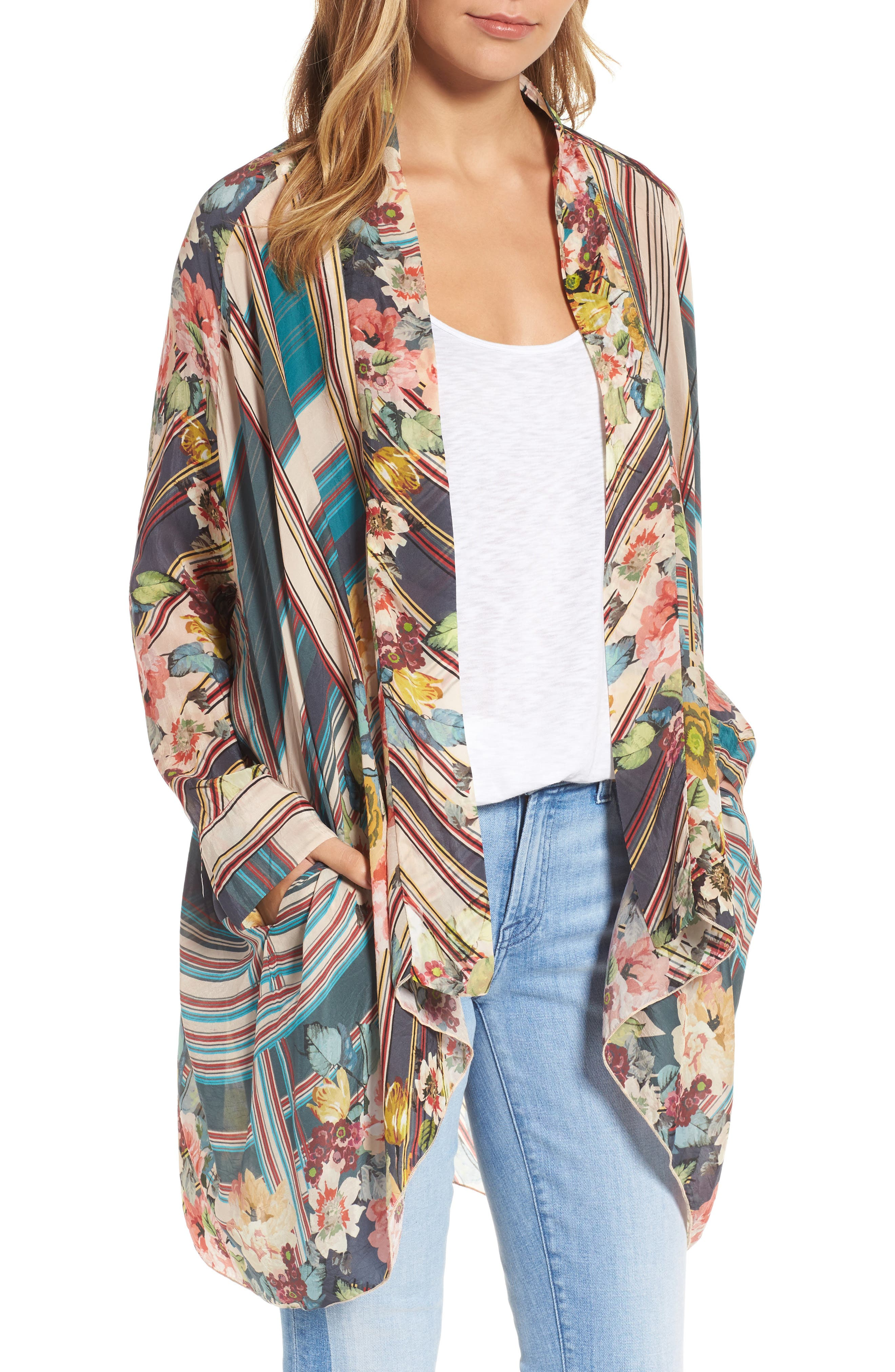 JOHNNY WAS Wilimina Kimono, Main, color, 976