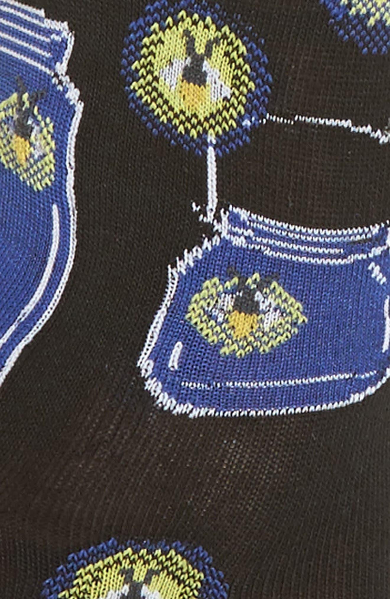 Fireflies Crew Socks,                             Alternate thumbnail 3, color,                             001