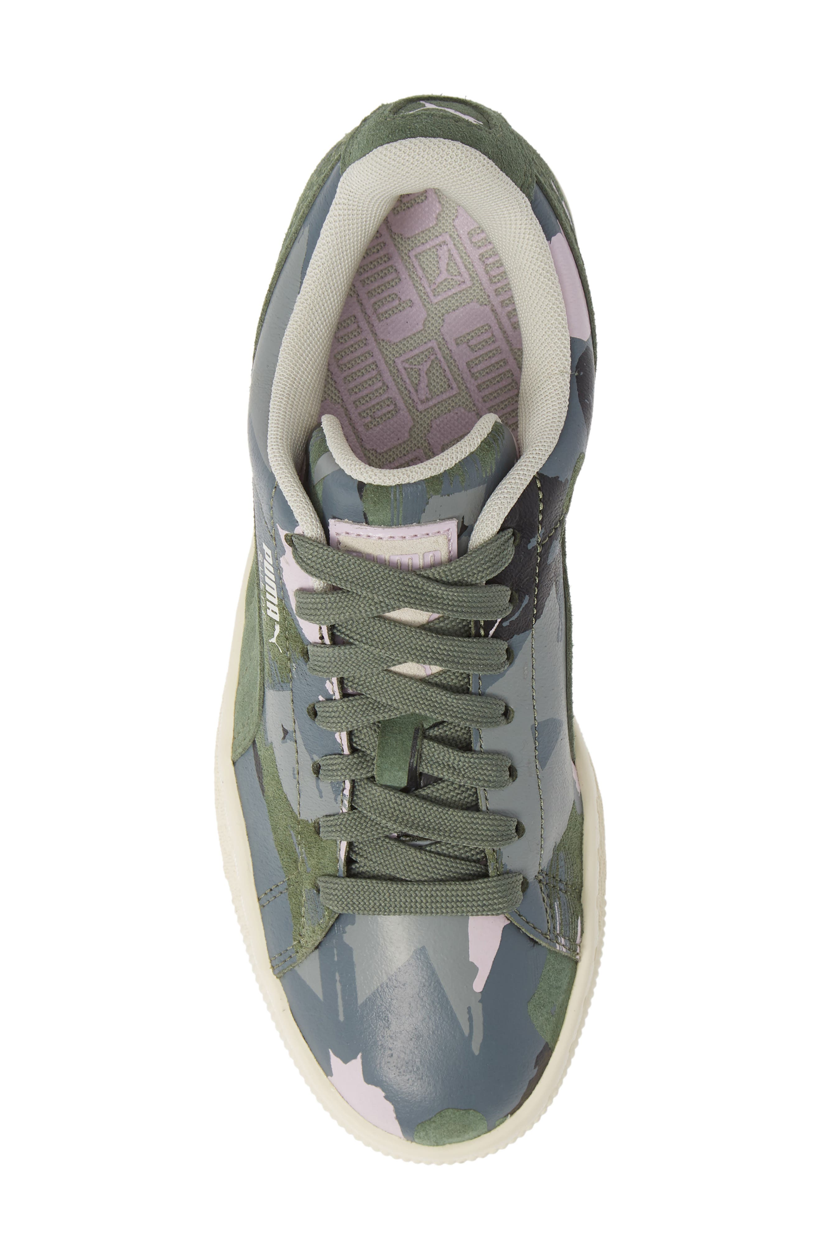 'Suede Classic' Sneaker,                             Alternate thumbnail 5, color,                             301