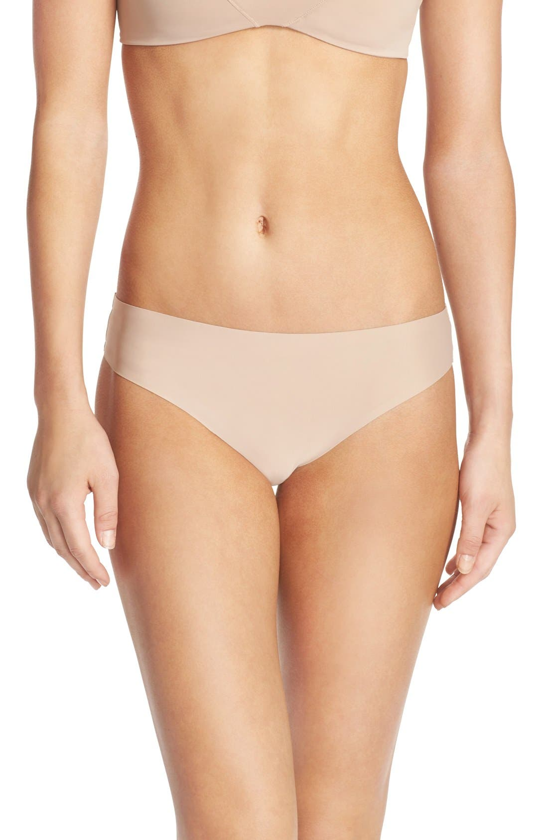 HONEYDEW INTIMATES Skinz Hipster Thong in Nude