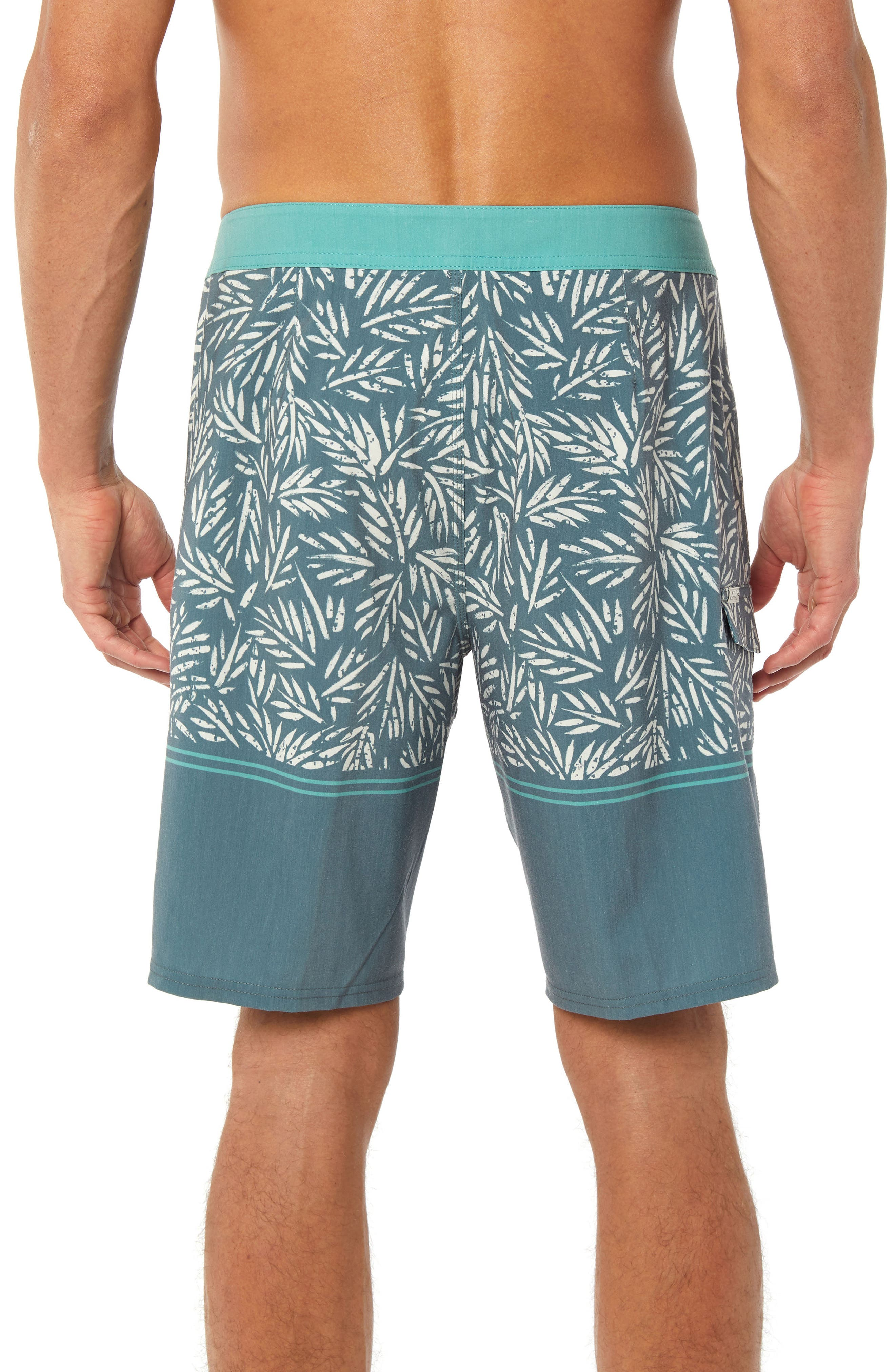 Vacay Board Shorts,                             Alternate thumbnail 2, color,                             DARK SEA GLASS