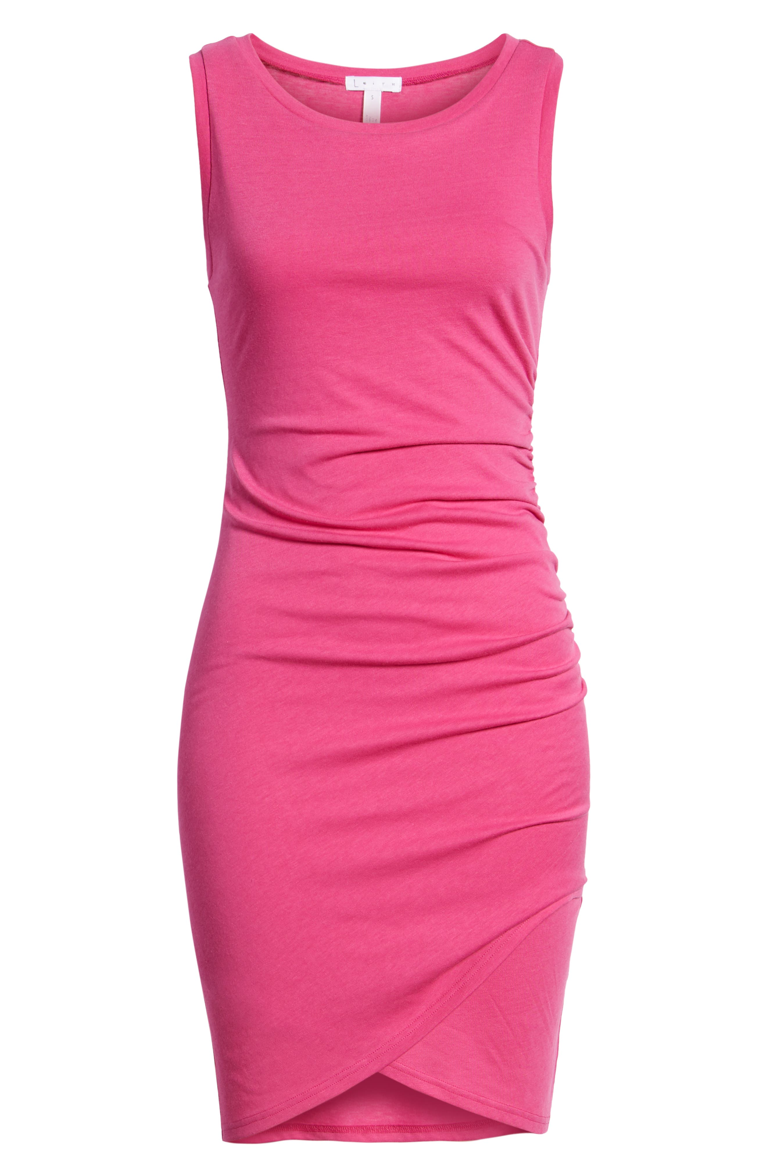 Ruched Body-Con Tank Dress,                             Alternate thumbnail 178, color,