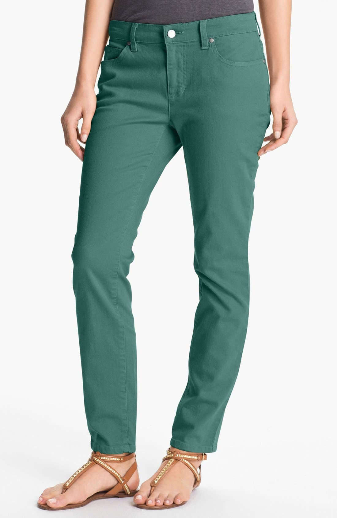 Skinny Ankle Jeans,                             Main thumbnail 9, color,