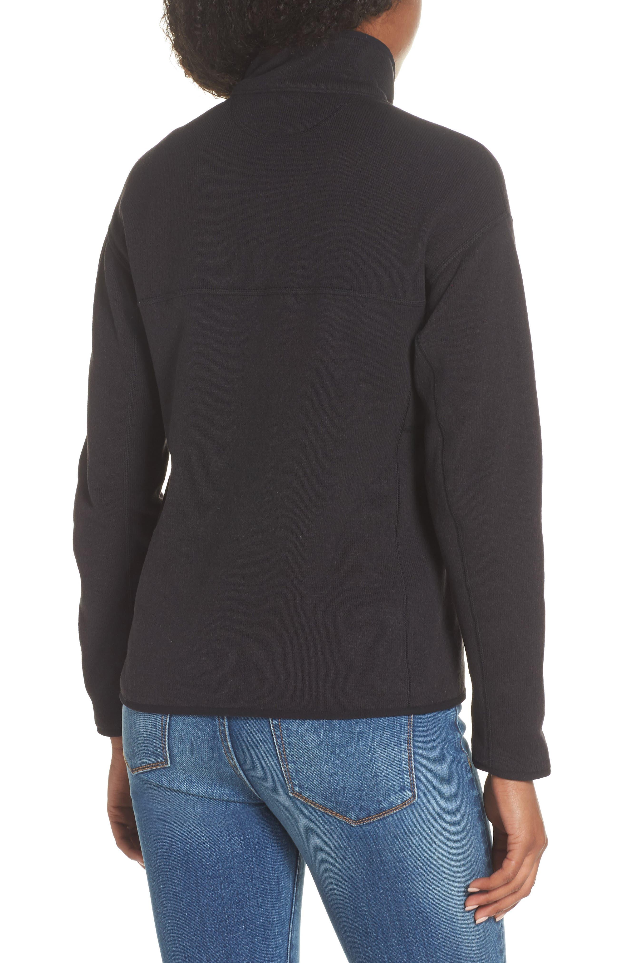 Lightweight Better Sweater Fleece,                             Alternate thumbnail 2, color,                             BLACK