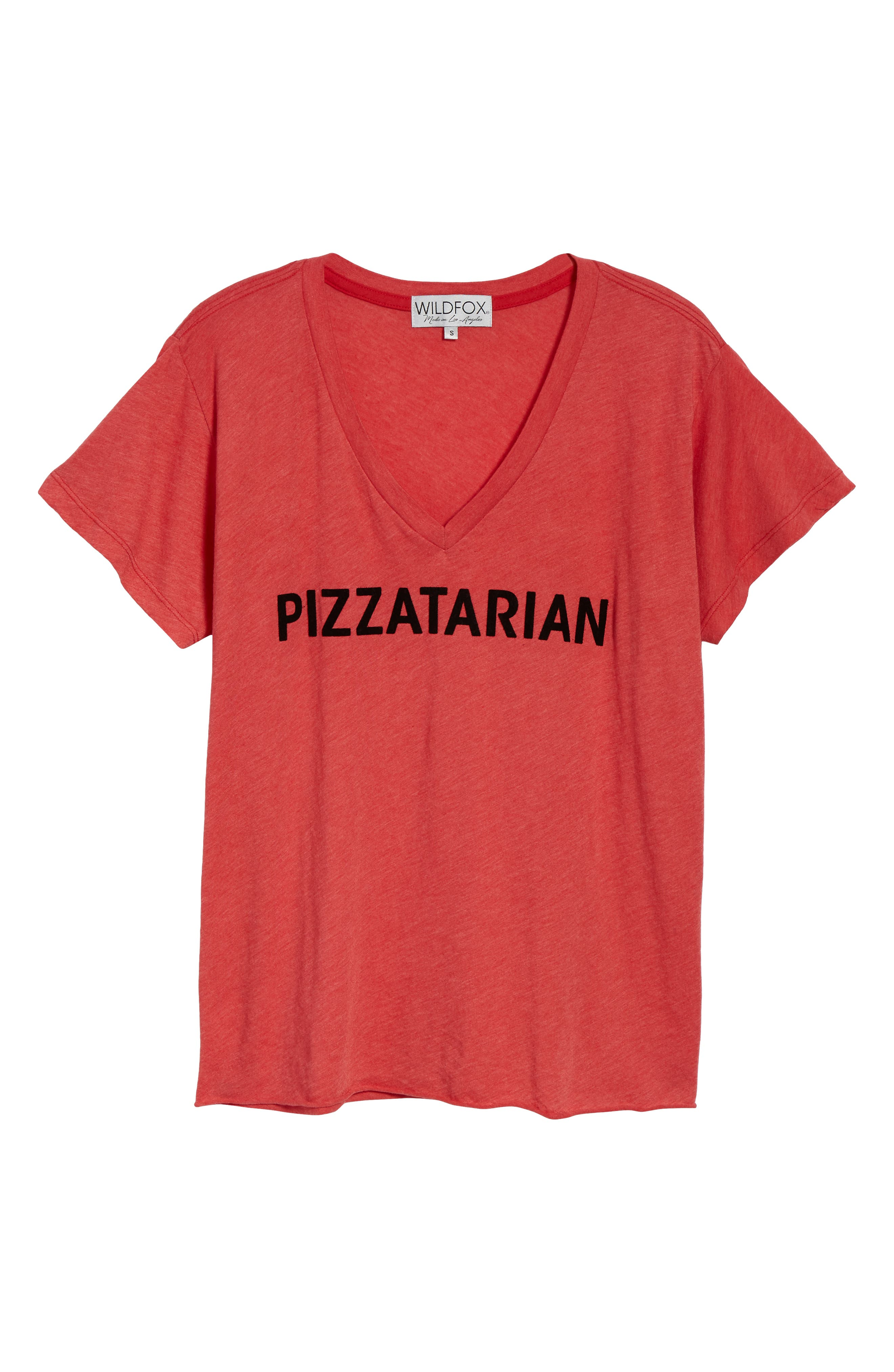 Pizzatarian Romeo Tee,                             Alternate thumbnail 6, color,                             620