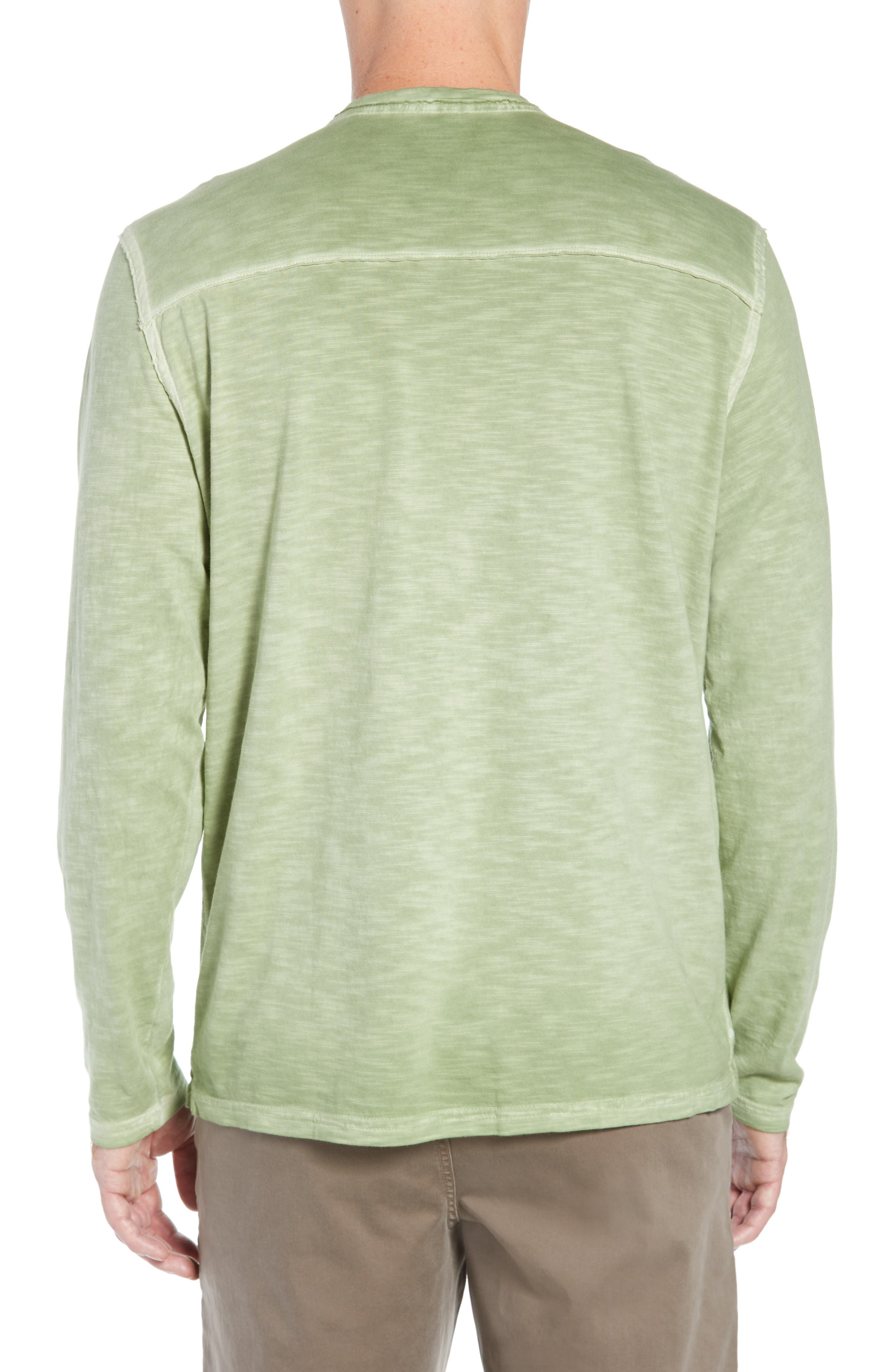 Suncoast Shores Long Sleeve V-Neck T-Shirt,                             Alternate thumbnail 2, color,                             WILD CLOVER