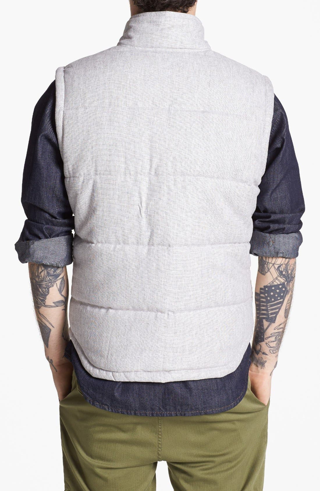 Quilted Vest,                             Alternate thumbnail 3, color,                             050