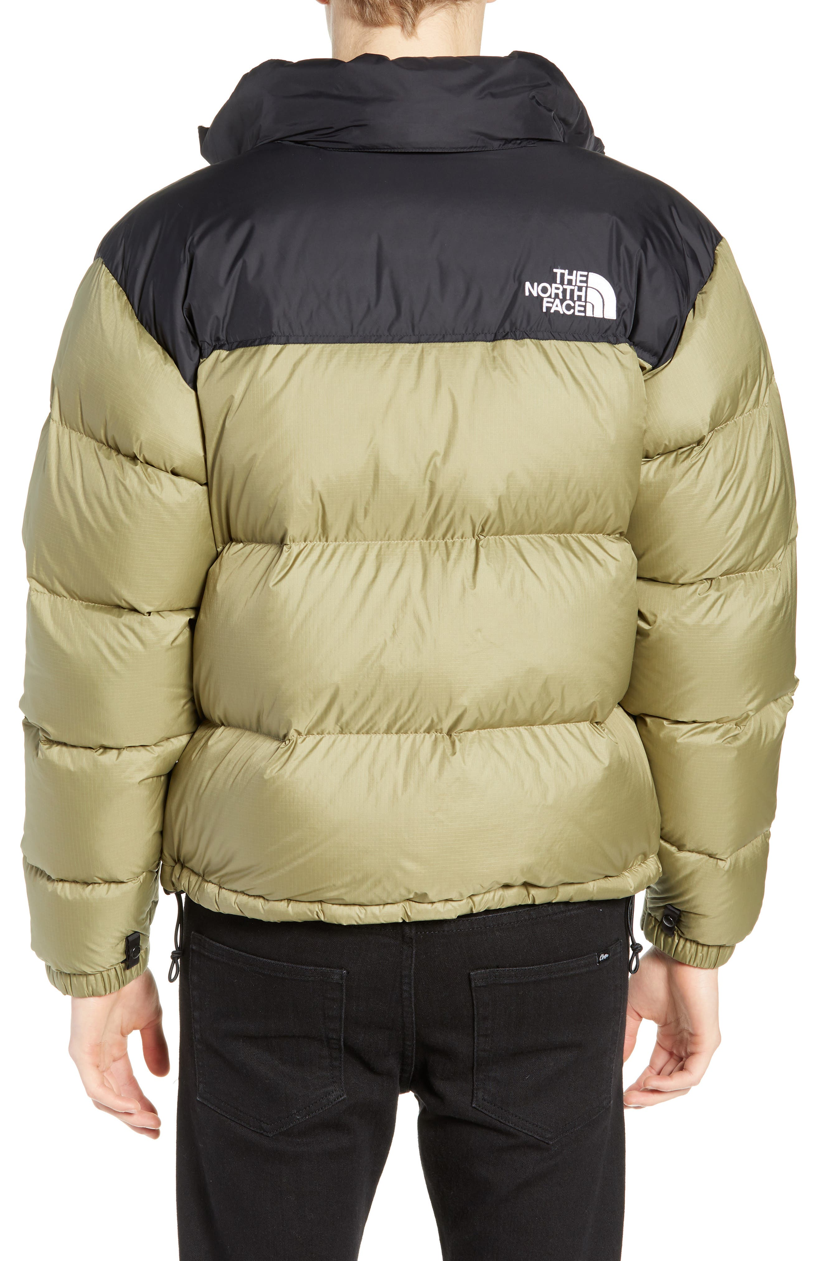Nuptse 1996 Packable Quilted Down Jacket,                             Alternate thumbnail 2, color,                             TUMBLEWEED GREEN