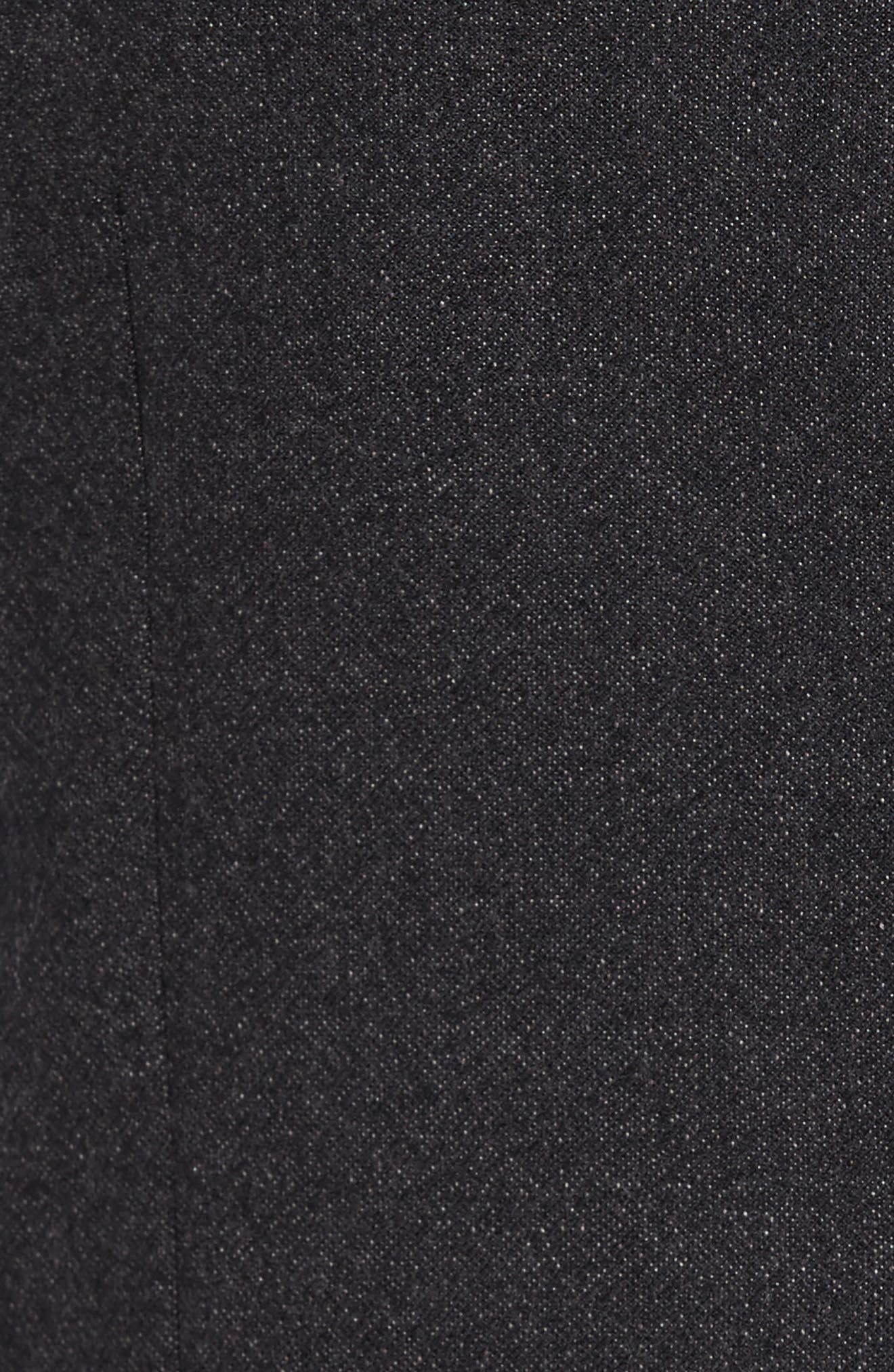 Troy Trim Fit Solid Wool Vest,                             Alternate thumbnail 6, color,                             502