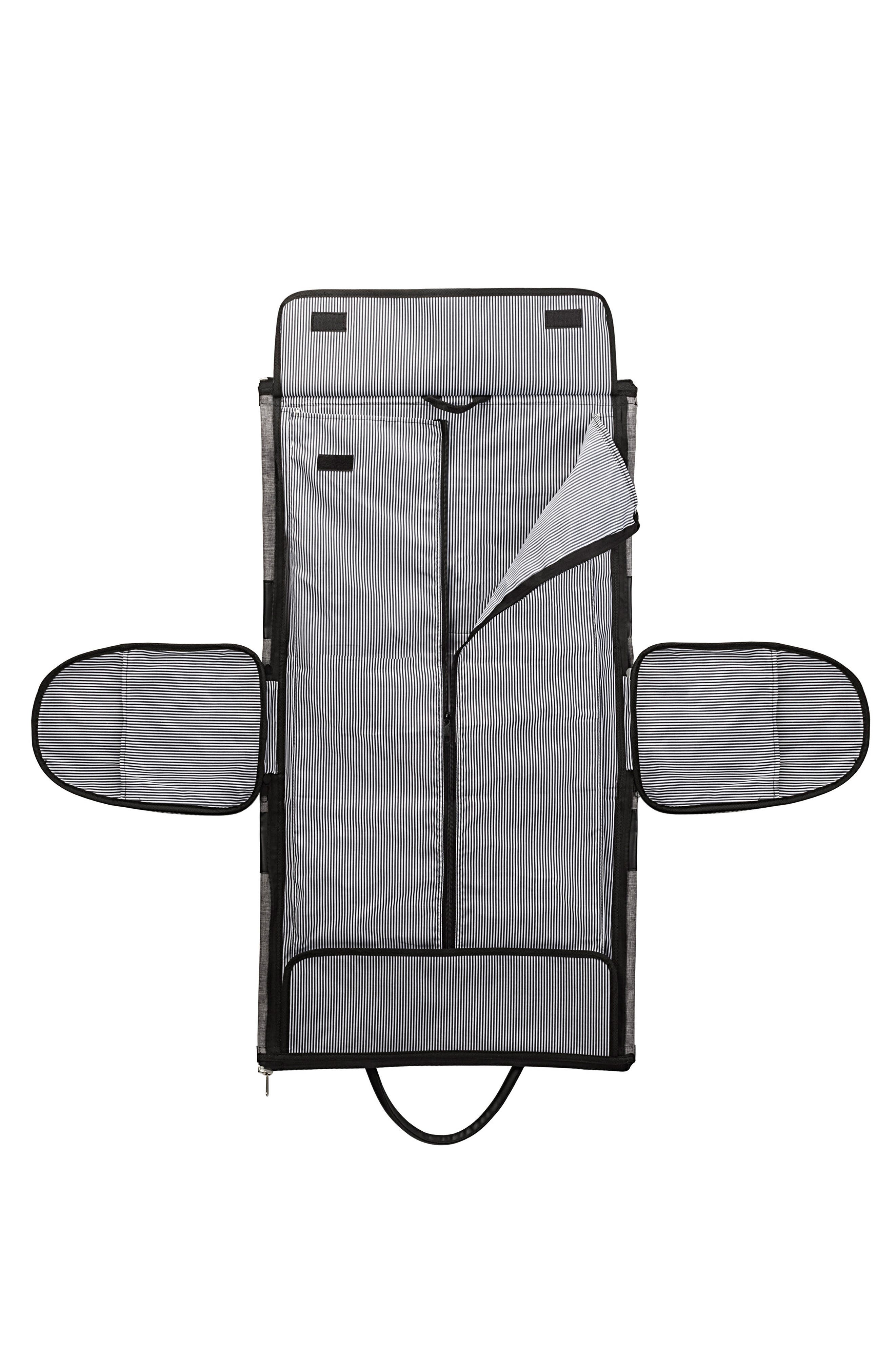 Monogram Duffel/Garment Bag,                             Alternate thumbnail 2, color,                             GREY A