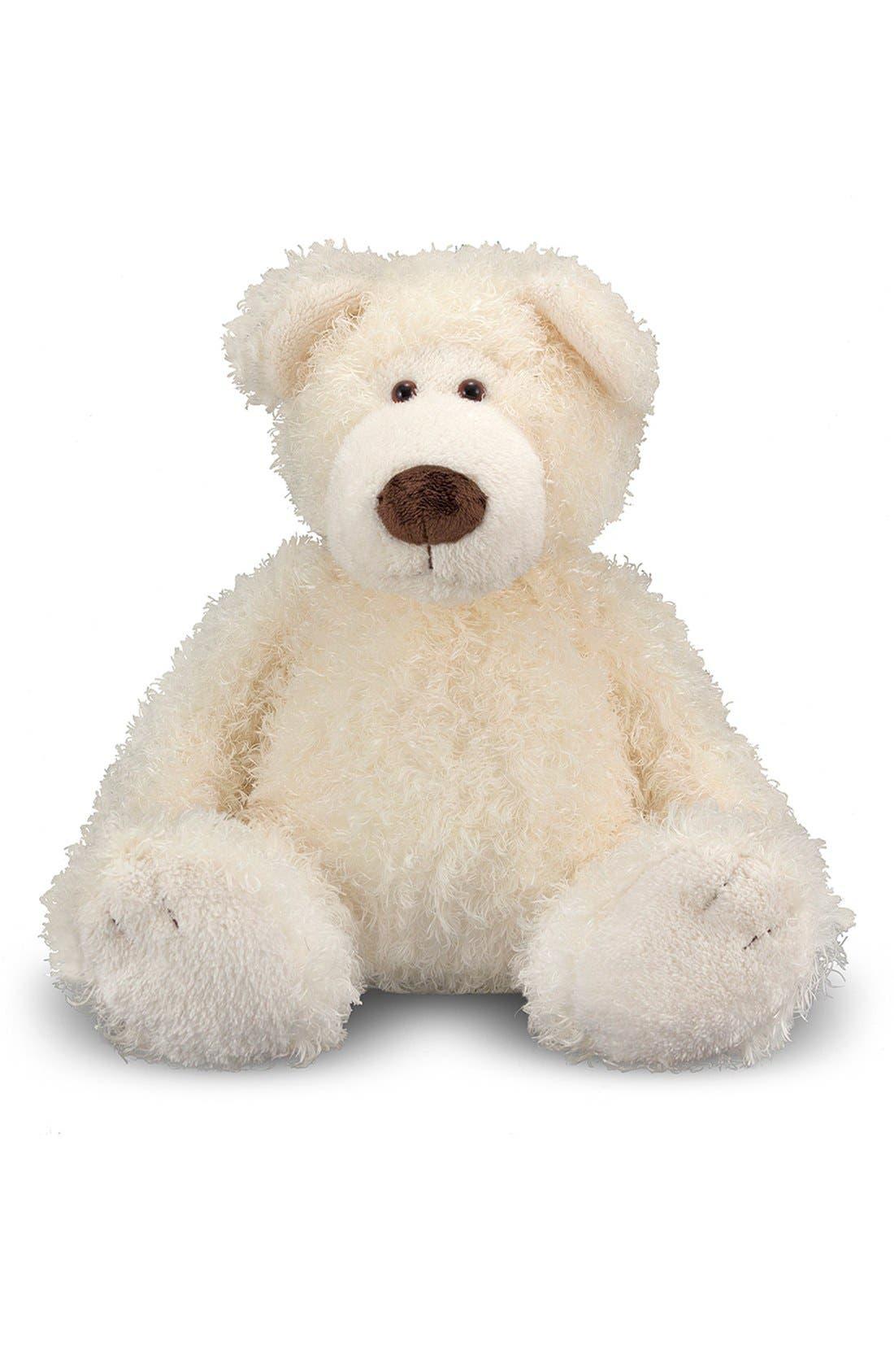 'Big Roscoe' Stuffed Bear,                             Alternate thumbnail 2, color,                             WHITE