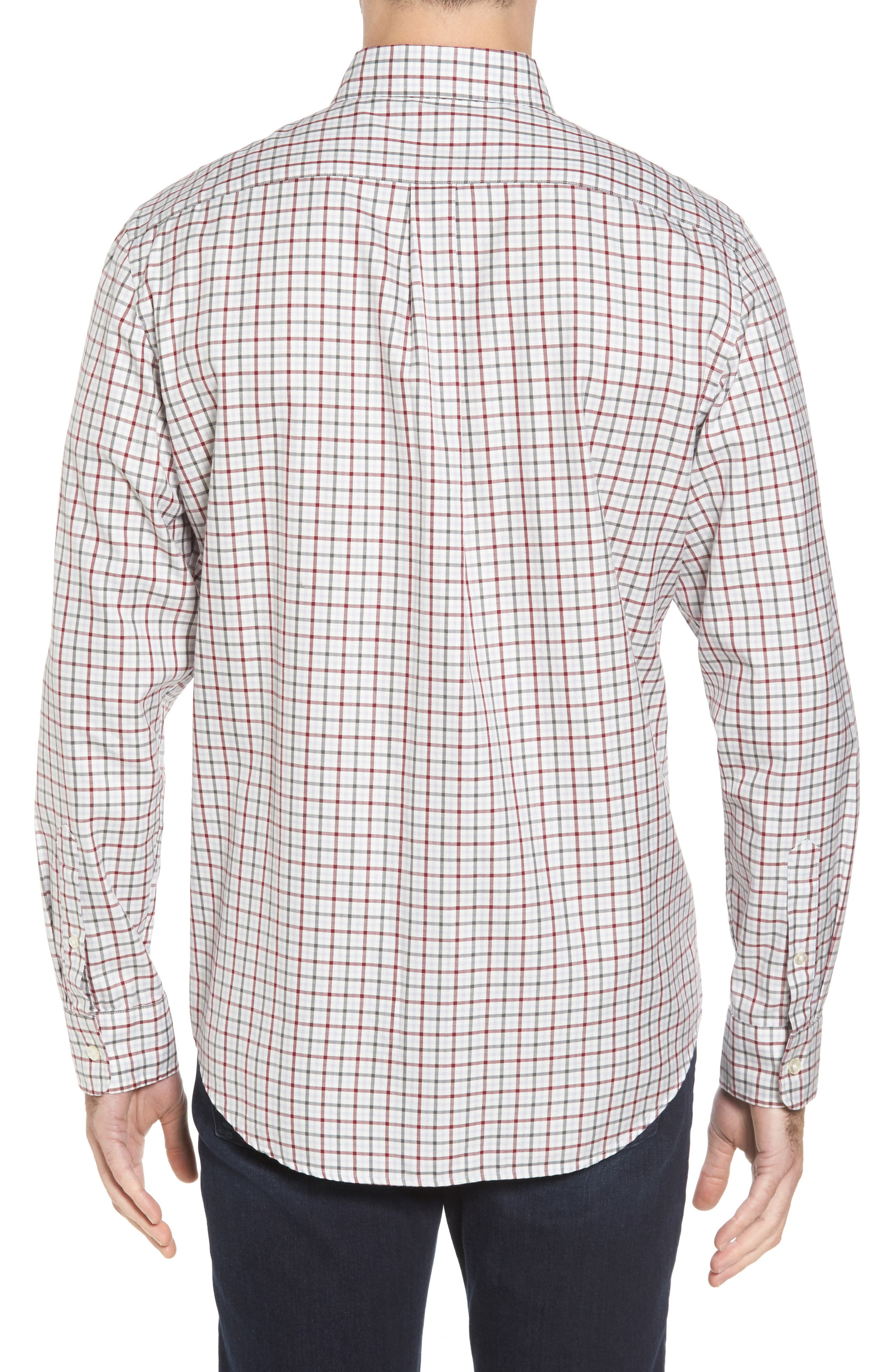 Classic Fit Tucker Cocktail Club Check Sport Shirt,                             Alternate thumbnail 2, color,                             644