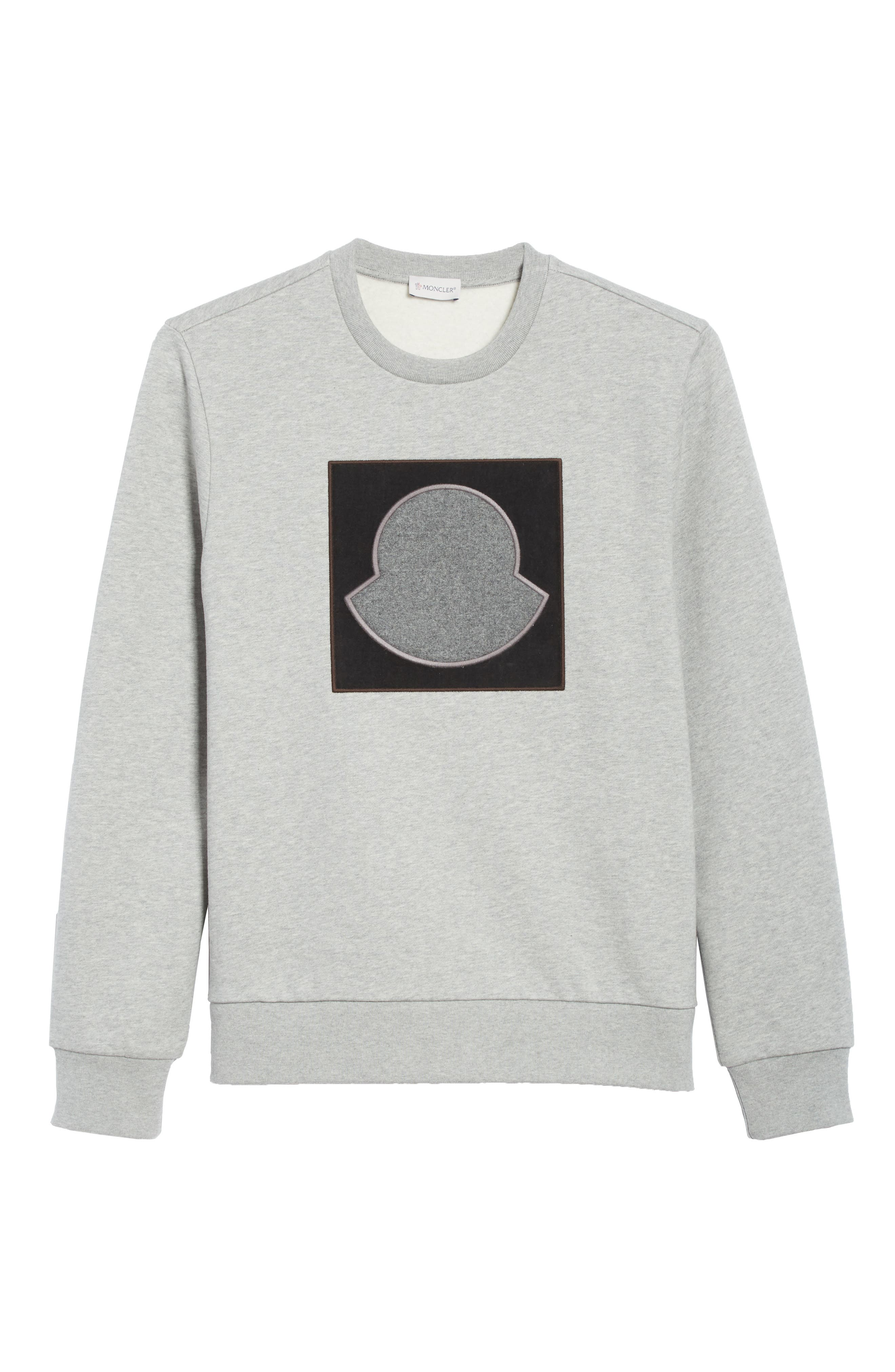 Maglia Bell Crewneck Sweatshirt,                             Alternate thumbnail 6, color,                             GREY
