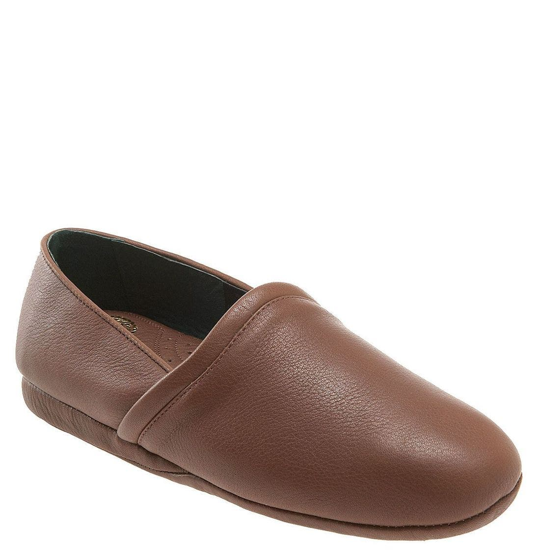 'Aristocrat Opera' Slip-On,                             Main thumbnail 1, color,                             BROWN