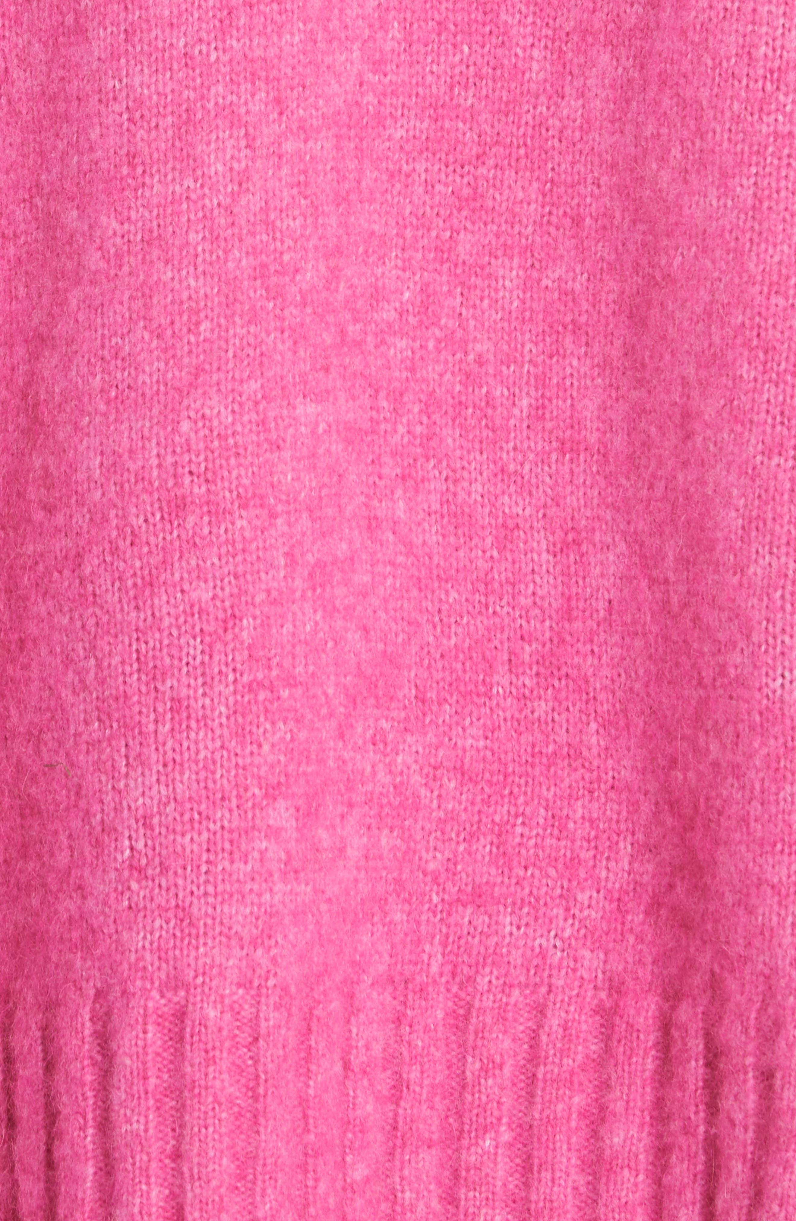 Wool & Alpaca Blend Sweater,                             Alternate thumbnail 5, color,                             653