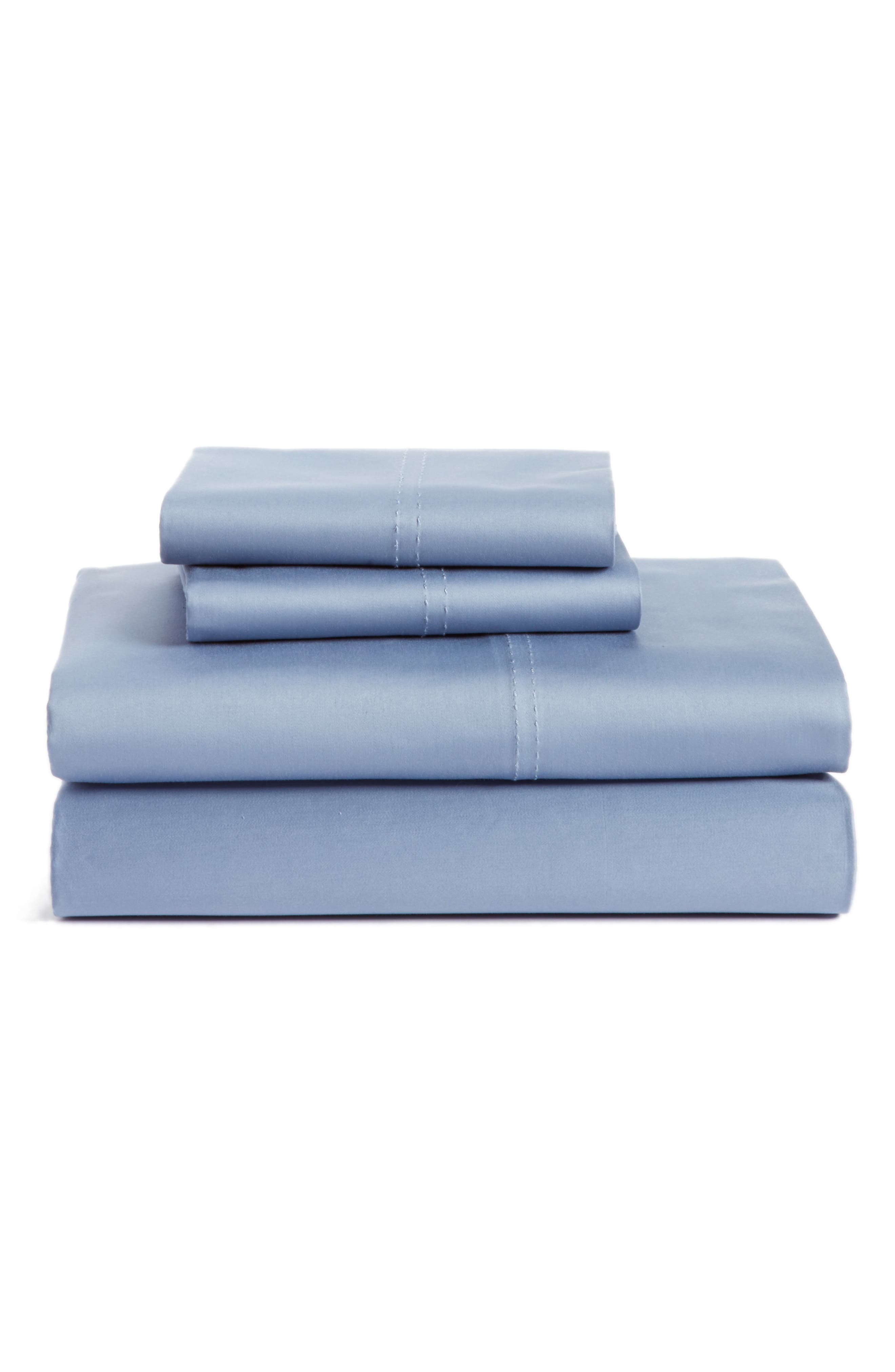 400 Thread Count Organic Cotton Sateen Sheet Set,                             Main thumbnail 11, color,