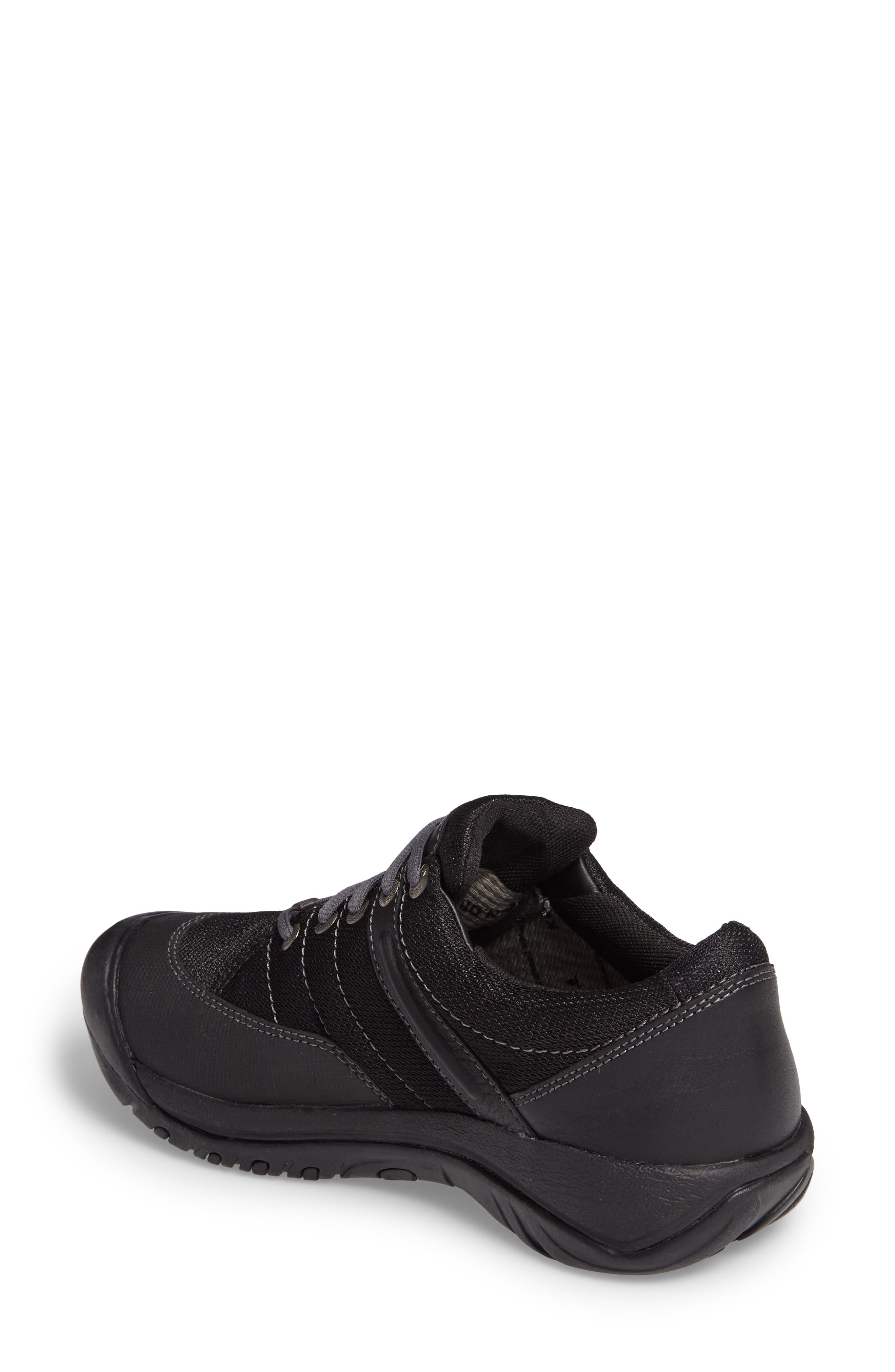Presidio Waterproof Sport Sneaker,                             Alternate thumbnail 2, color,                             BLACK LEATHER