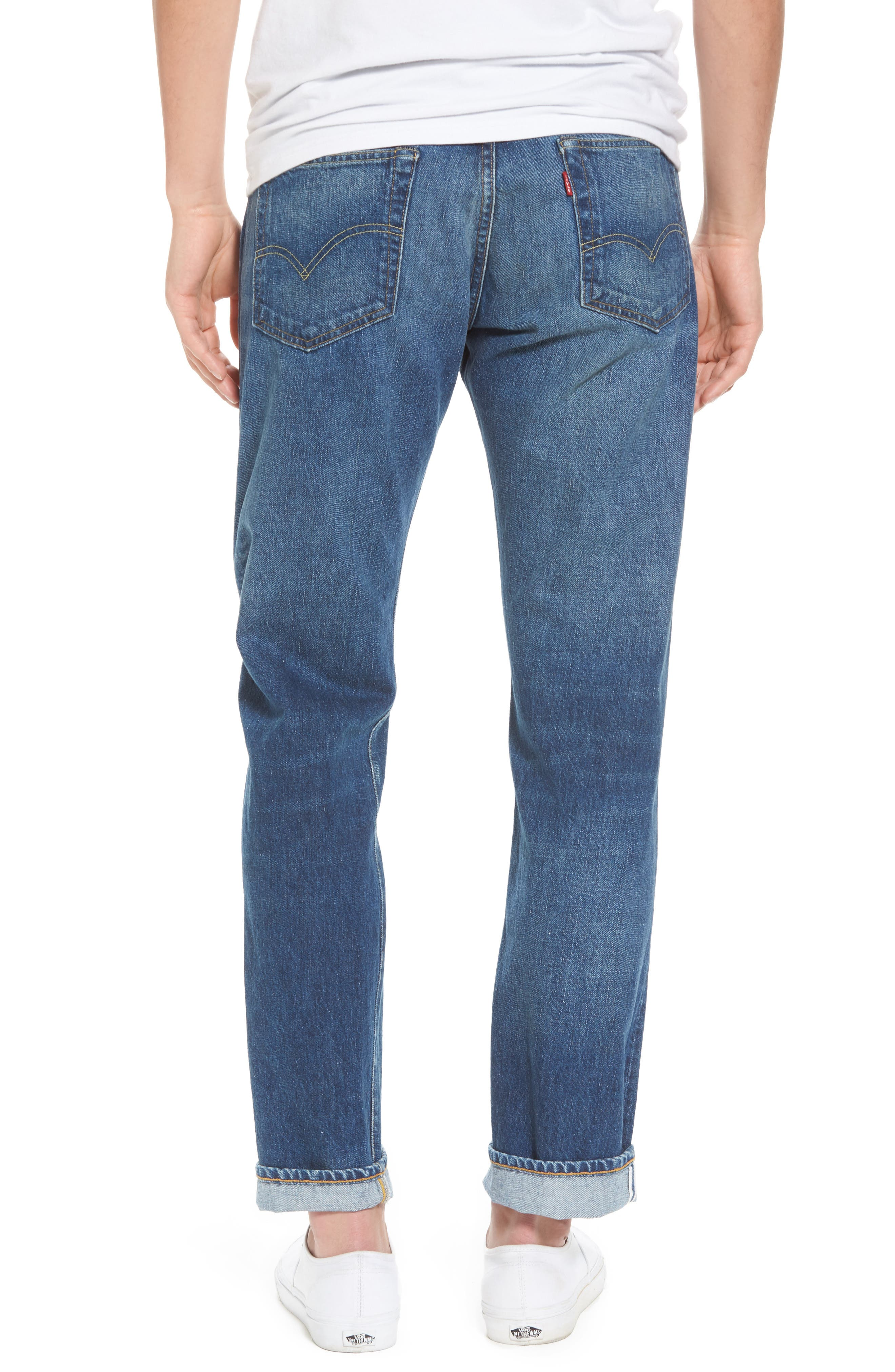 1954 501<sup>®</sup> Tapered Leg Jeans,                             Alternate thumbnail 2, color,                             401