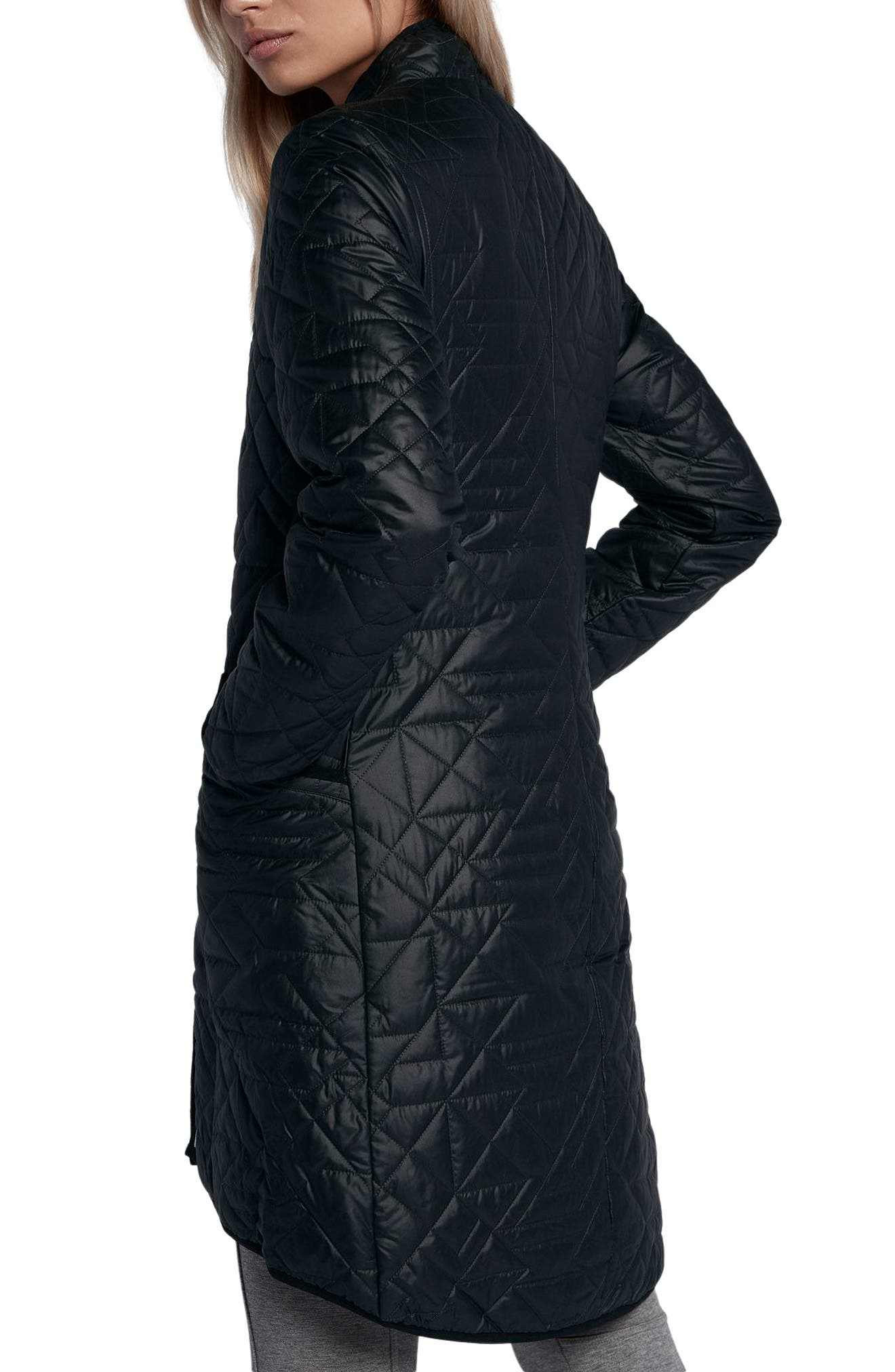 Sportswear Quilted Women's Parka,                             Alternate thumbnail 2, color,                             010