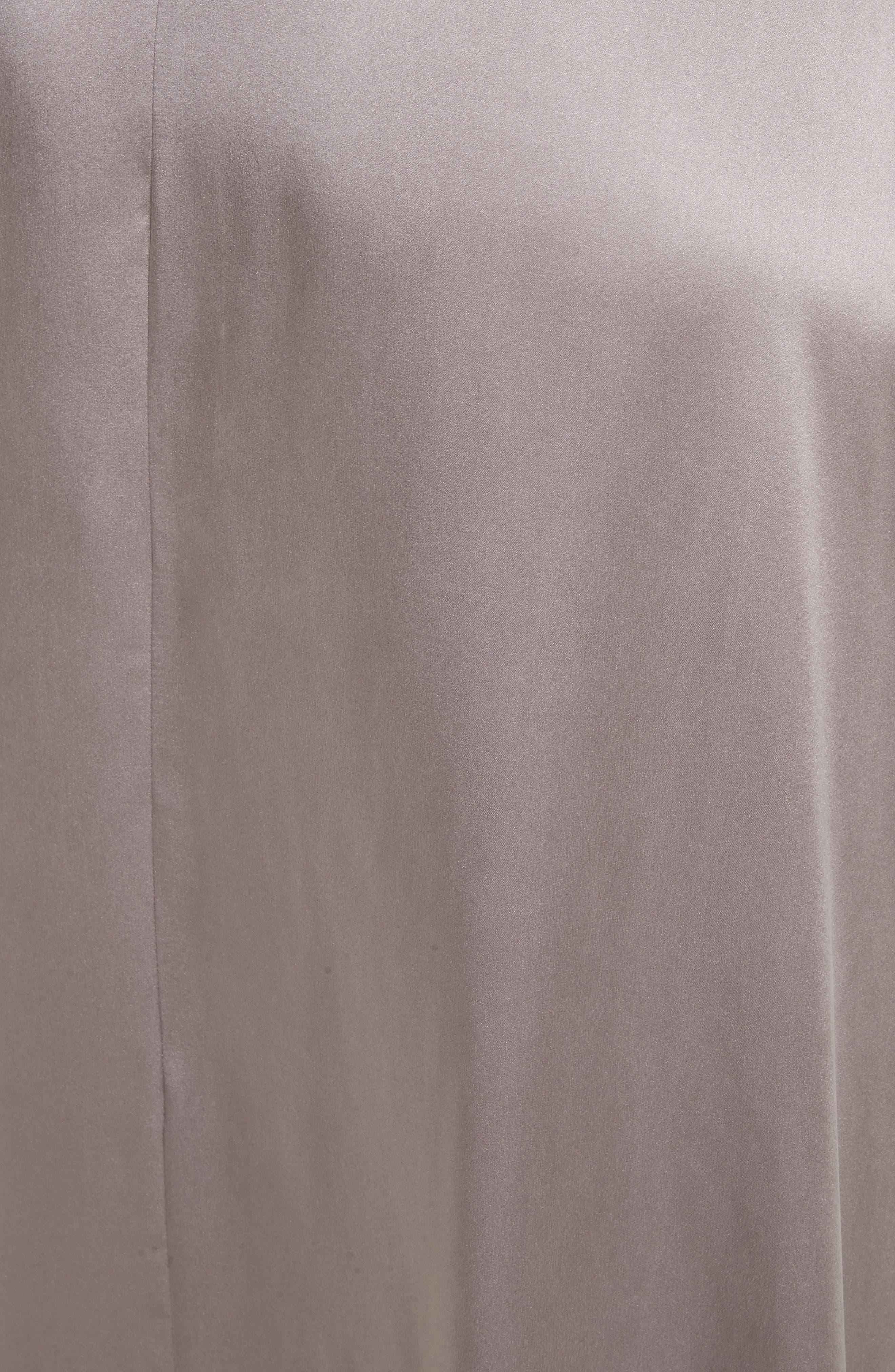 Dahoma Silk Wrap Midi Skirt,                             Alternate thumbnail 5, color,                             042