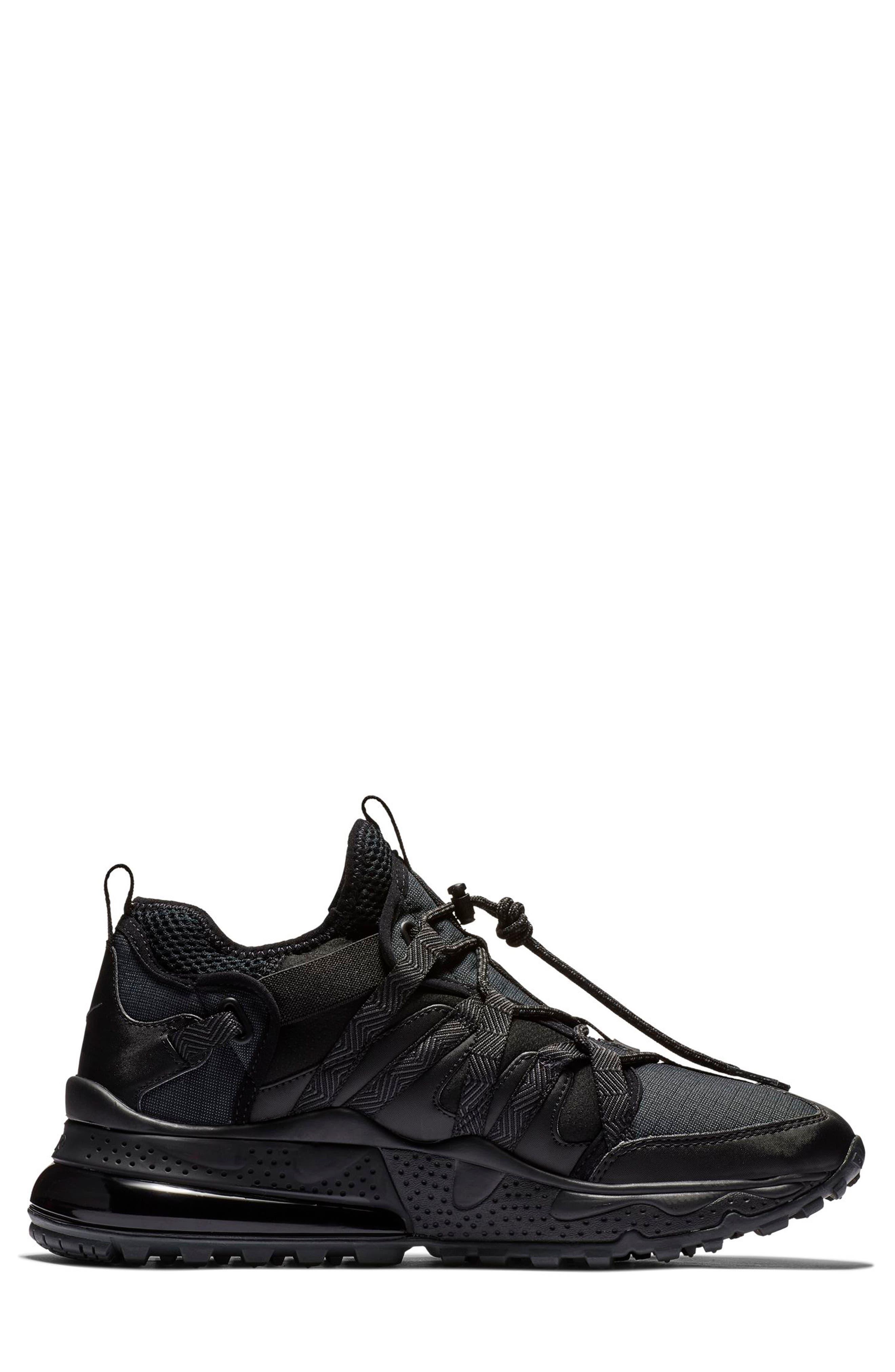 Air Max 270 Bowfin Sneaker,                             Alternate thumbnail 2, color,                             BLACK/ ANTHRACITE/ BLACK