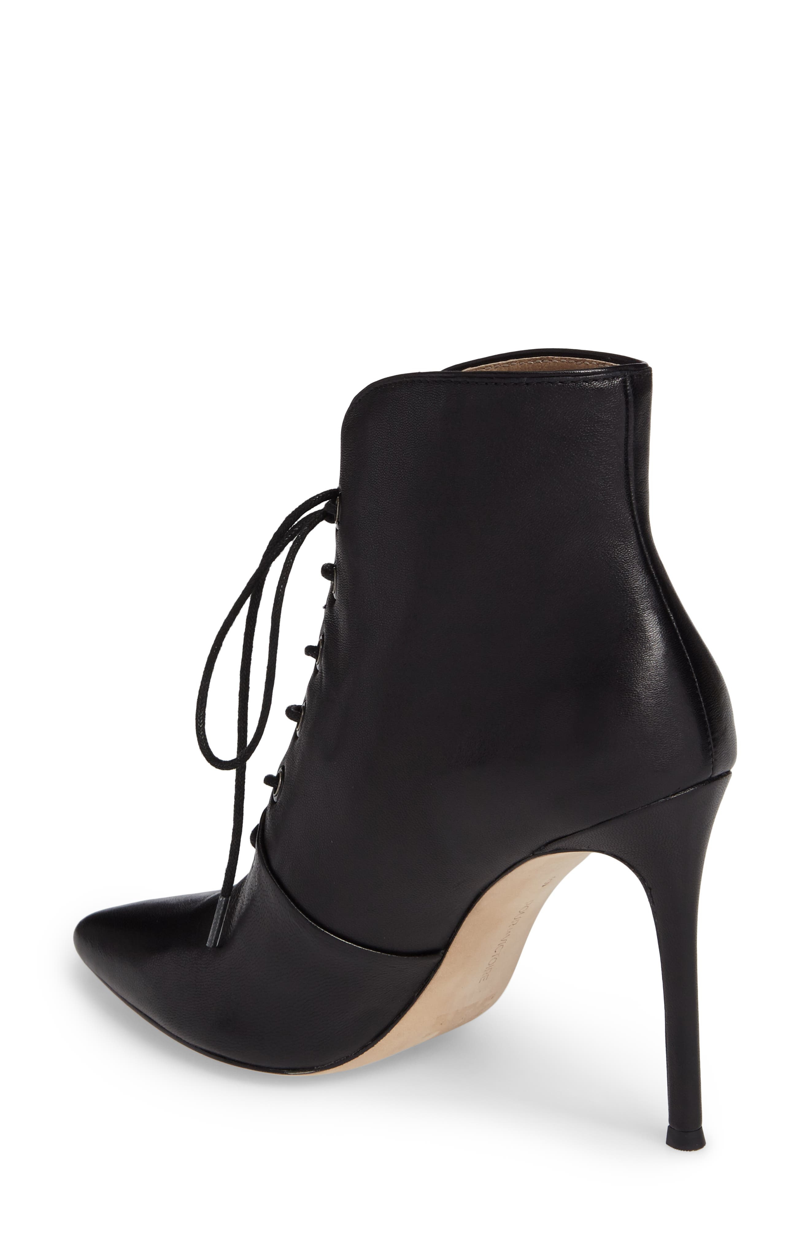 Cari Pointy Toe Bootie,                             Alternate thumbnail 2, color,                             001