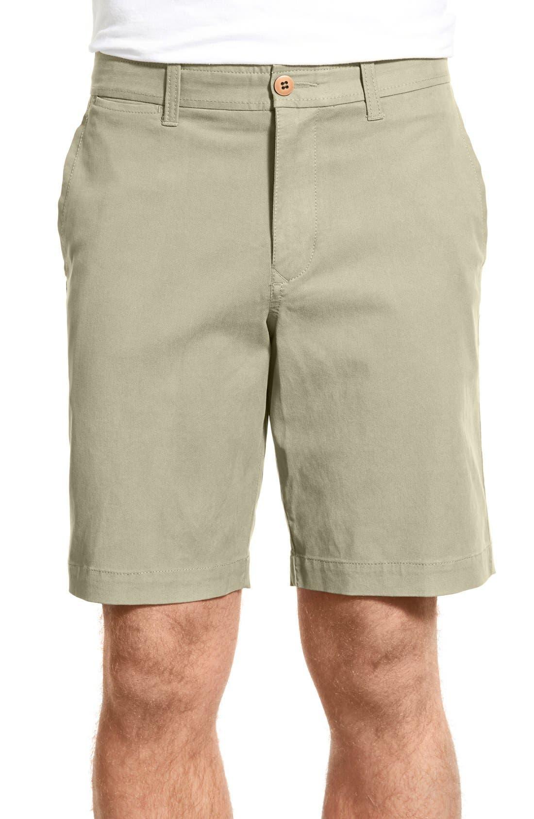 'Offshore' Flat Front Shorts,                             Main thumbnail 5, color,