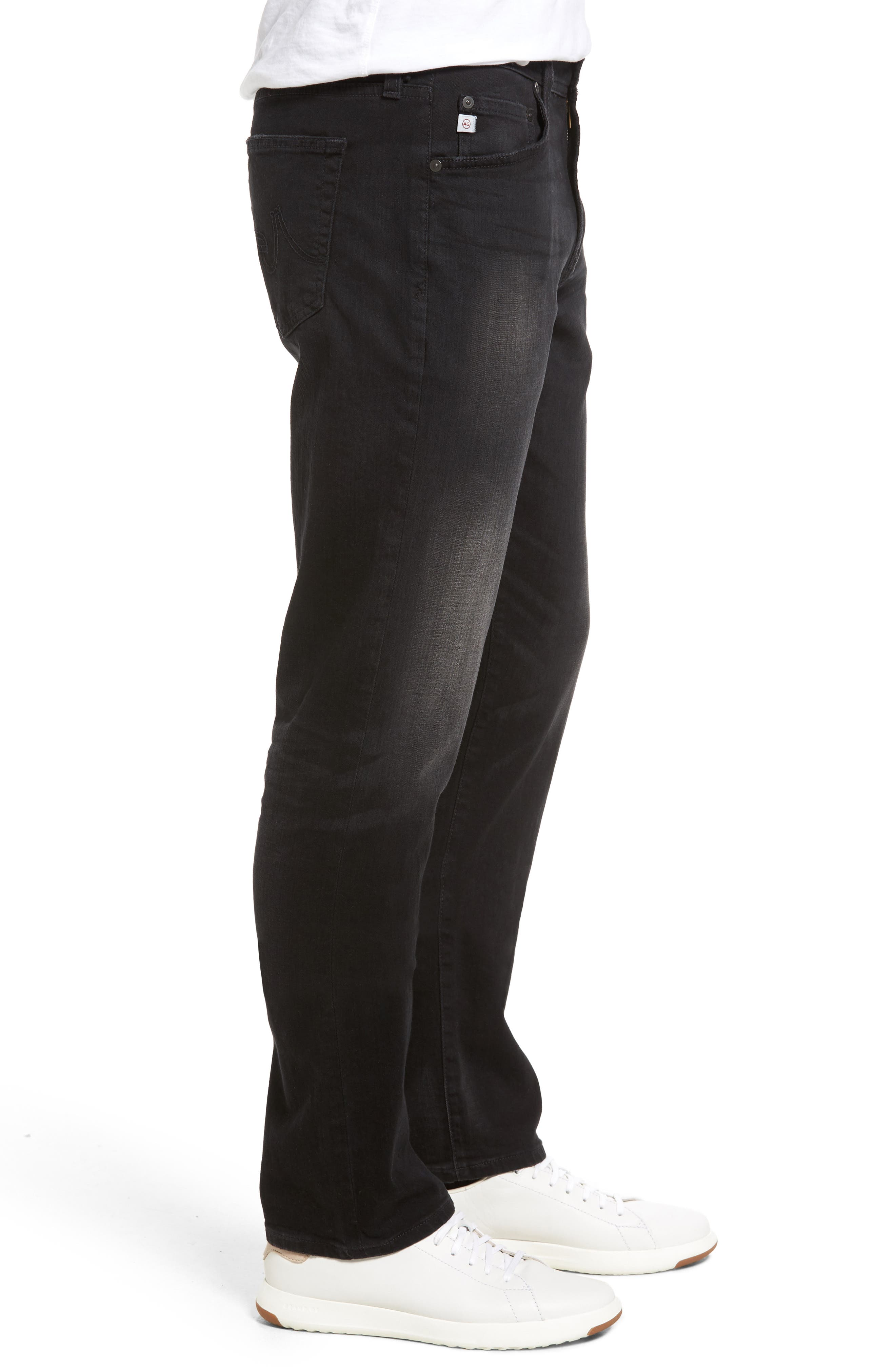 Graduate Slim Straight Leg Jeans,                             Alternate thumbnail 3, color,                             415
