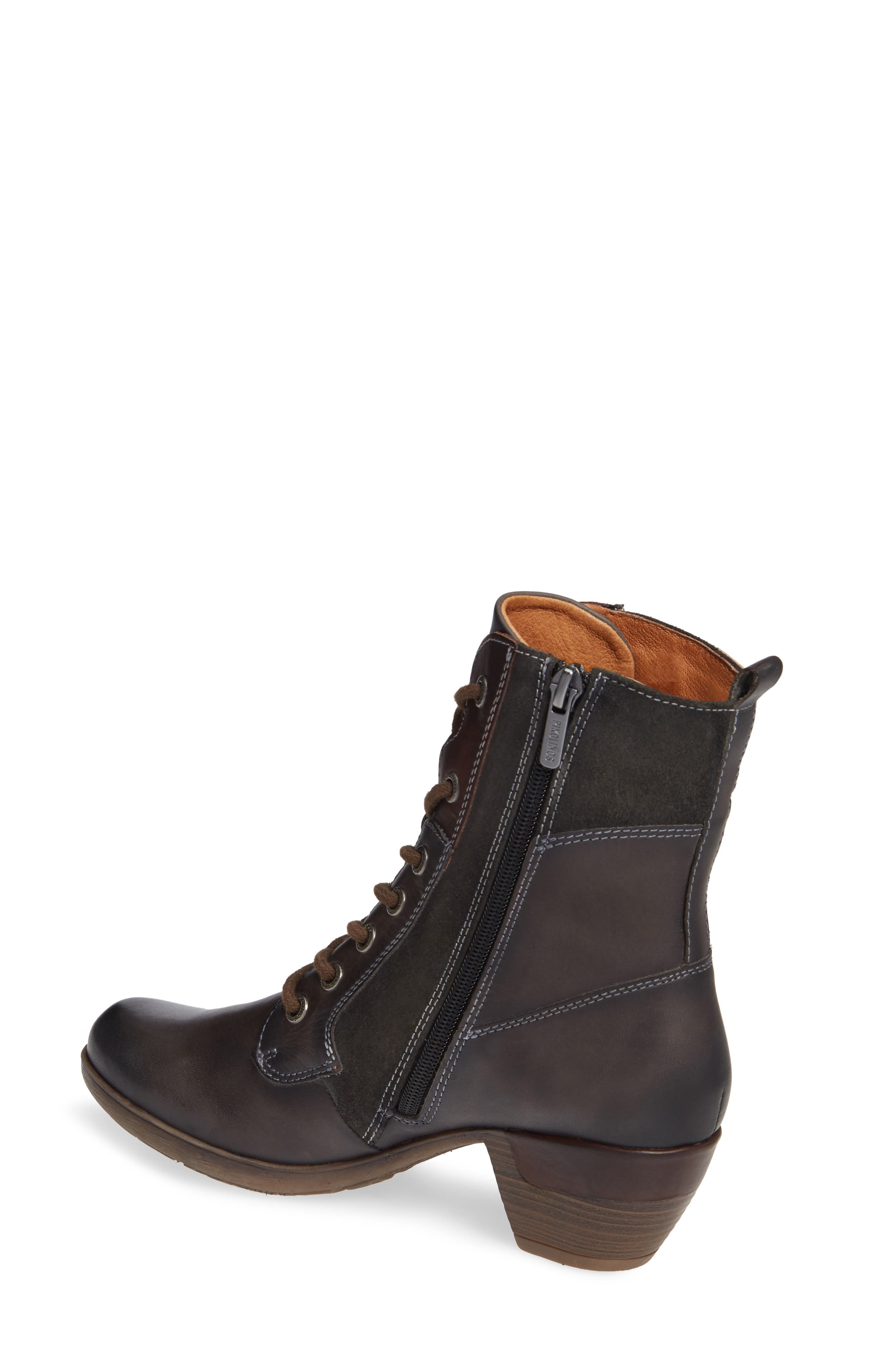 Rotterdam Bootie,                             Alternate thumbnail 2, color,                             LEAD LEATHER